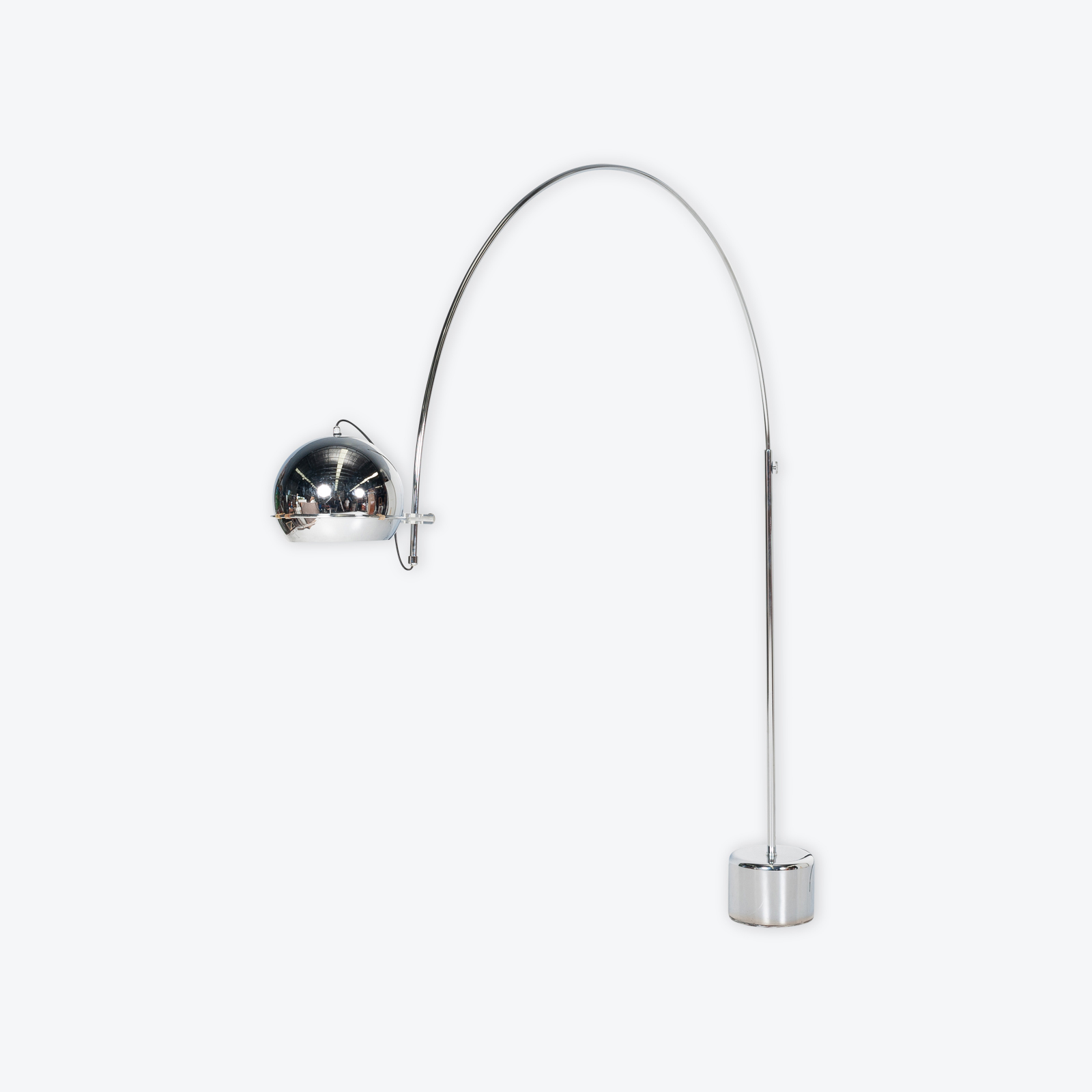 Arc Lamp By Gepo, 1950s, The Netherlands Hero