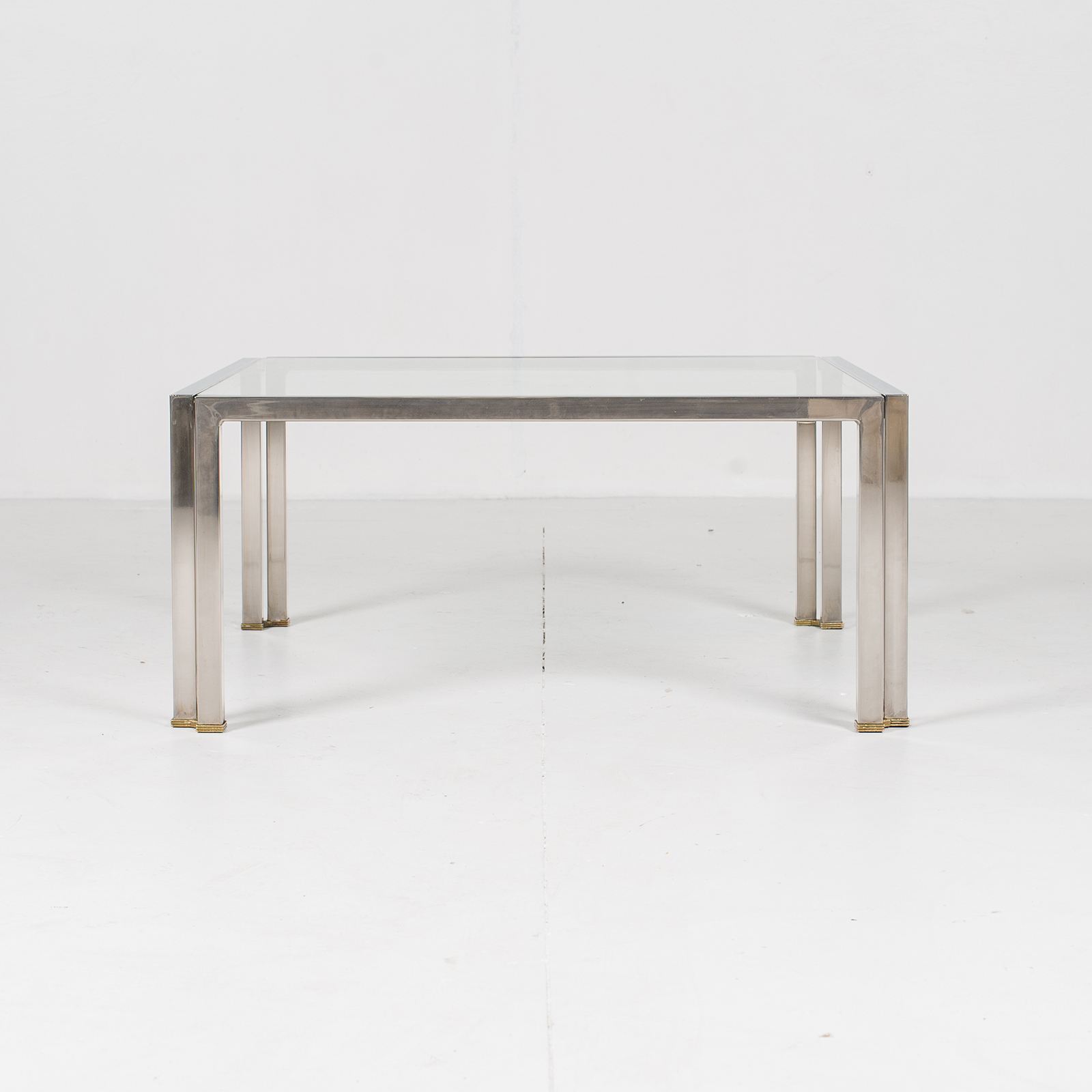 Coffee Table With Glass Top, Belgium 2978