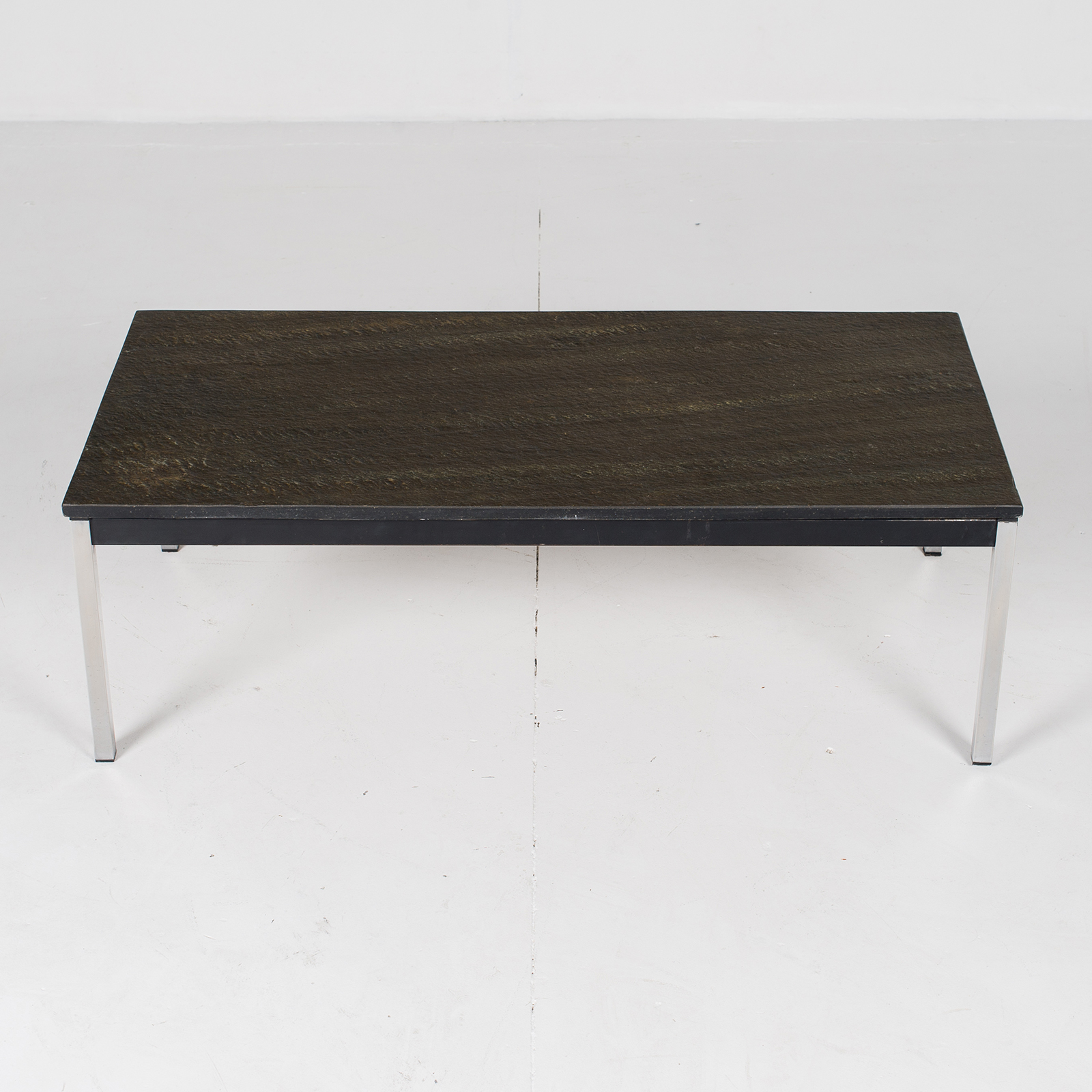 Coffee Table With Slate Top By Martin Visser, 1950s, The Netherlands 3055