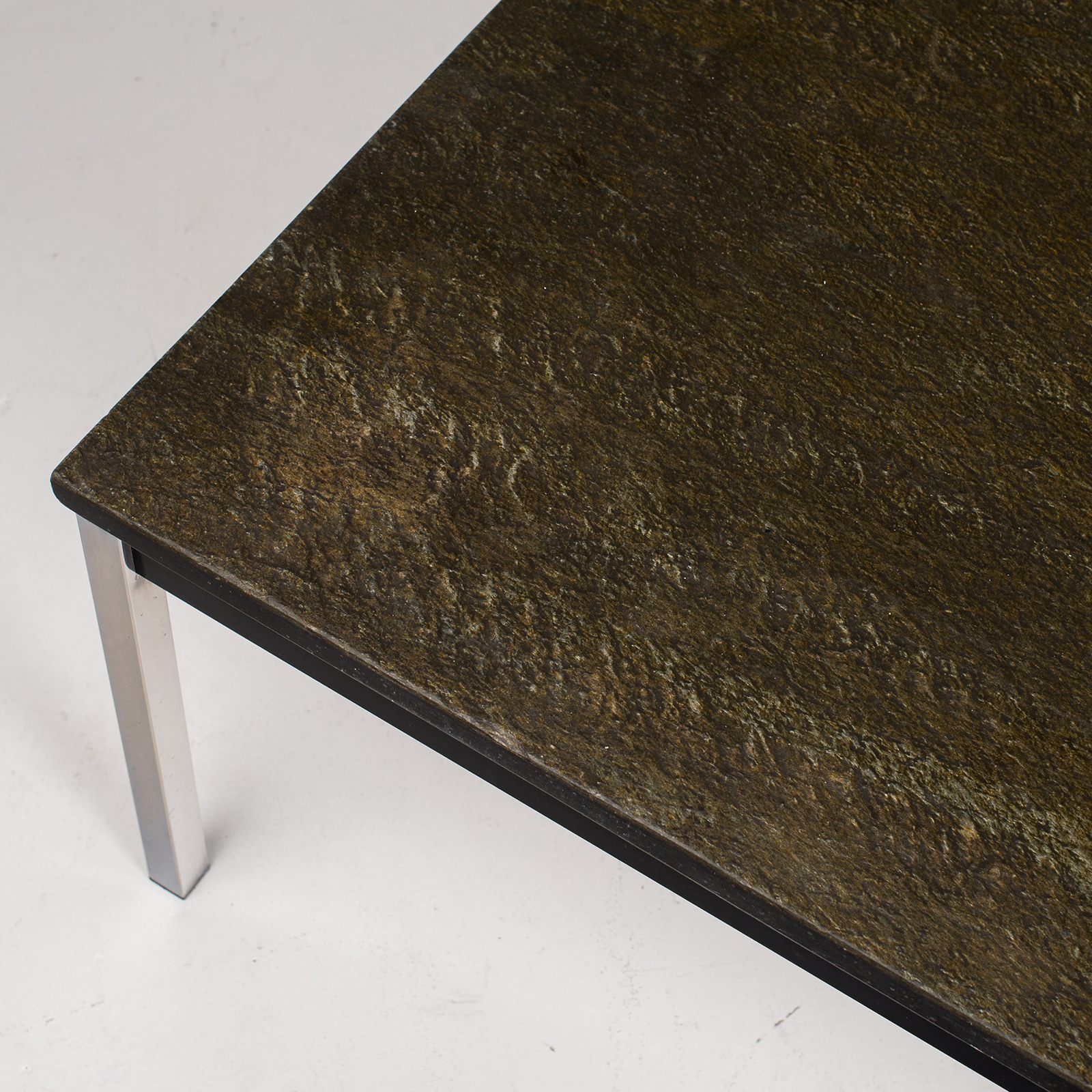 Coffee Table With Slate Top By Martin Visser, 1950s, The Netherlands 3061