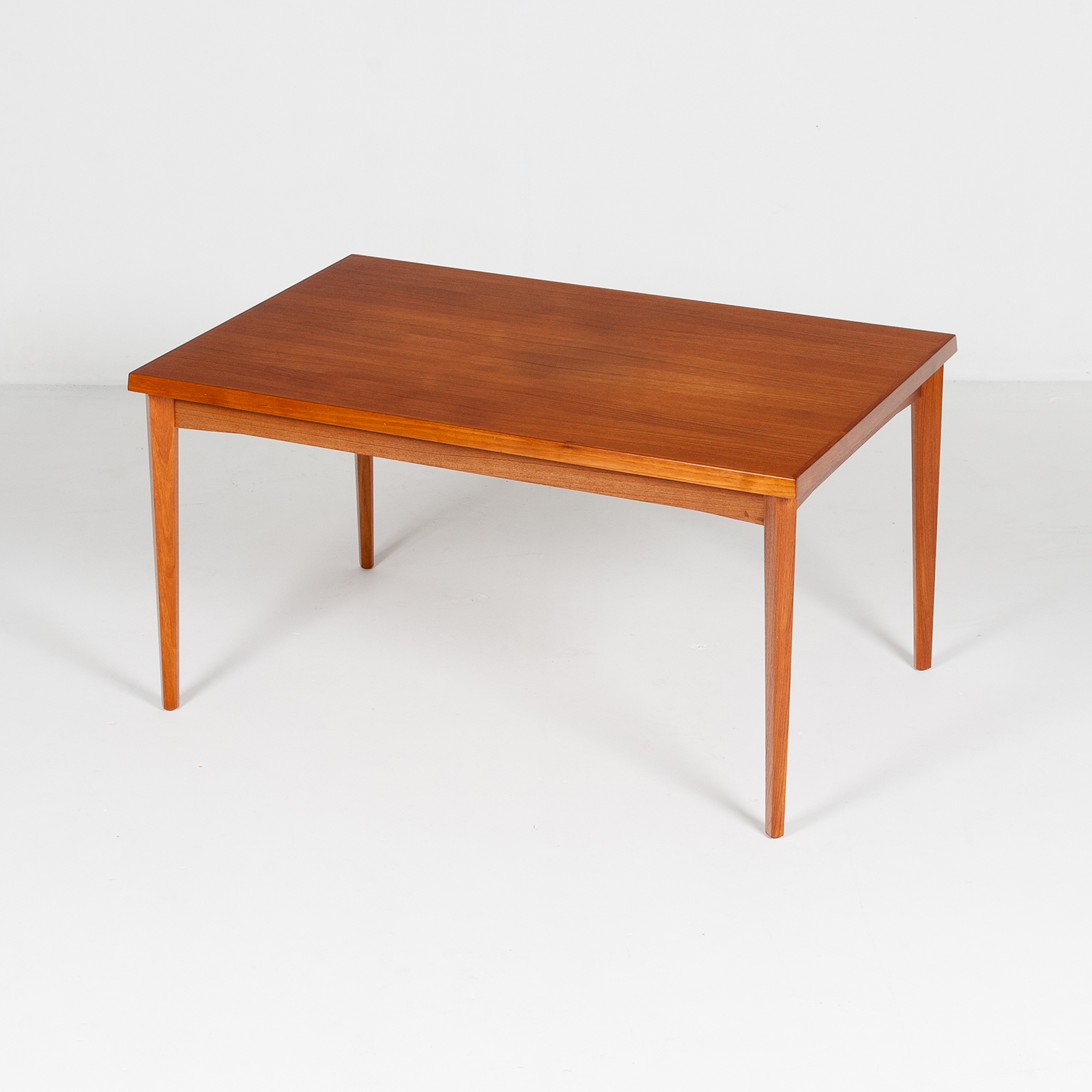 Dining Table In Teak With Concealed Top, 1960s, Denmark21