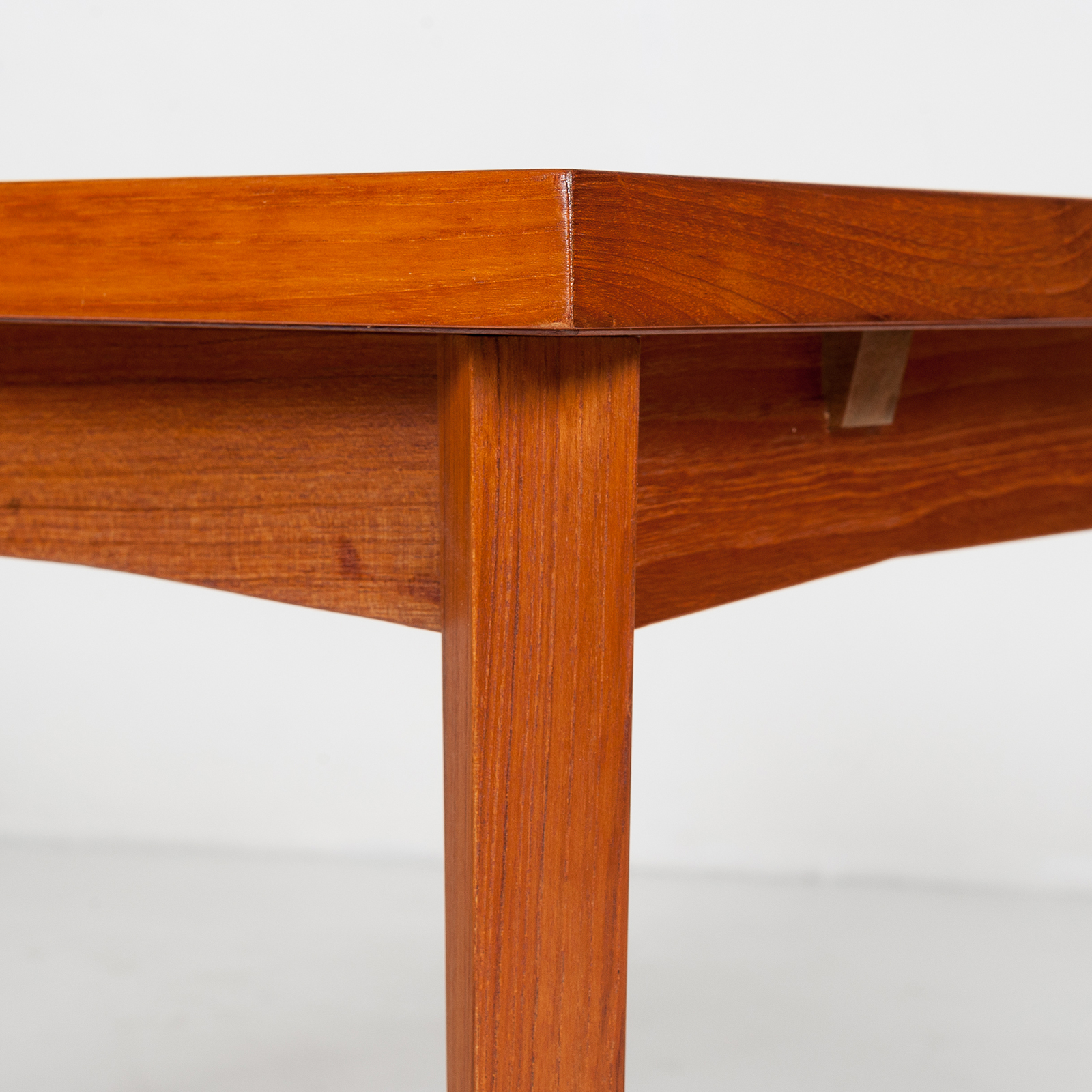 Dining Table In Teak With Concealed Top, 1960s, Denmark22