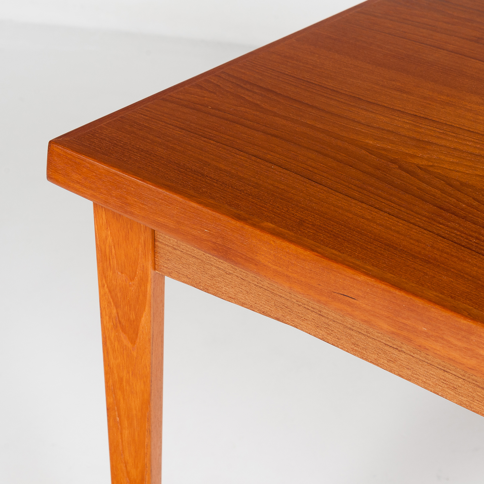 Dining Table In Teak With Concealed Top, 1960s, Denmark24