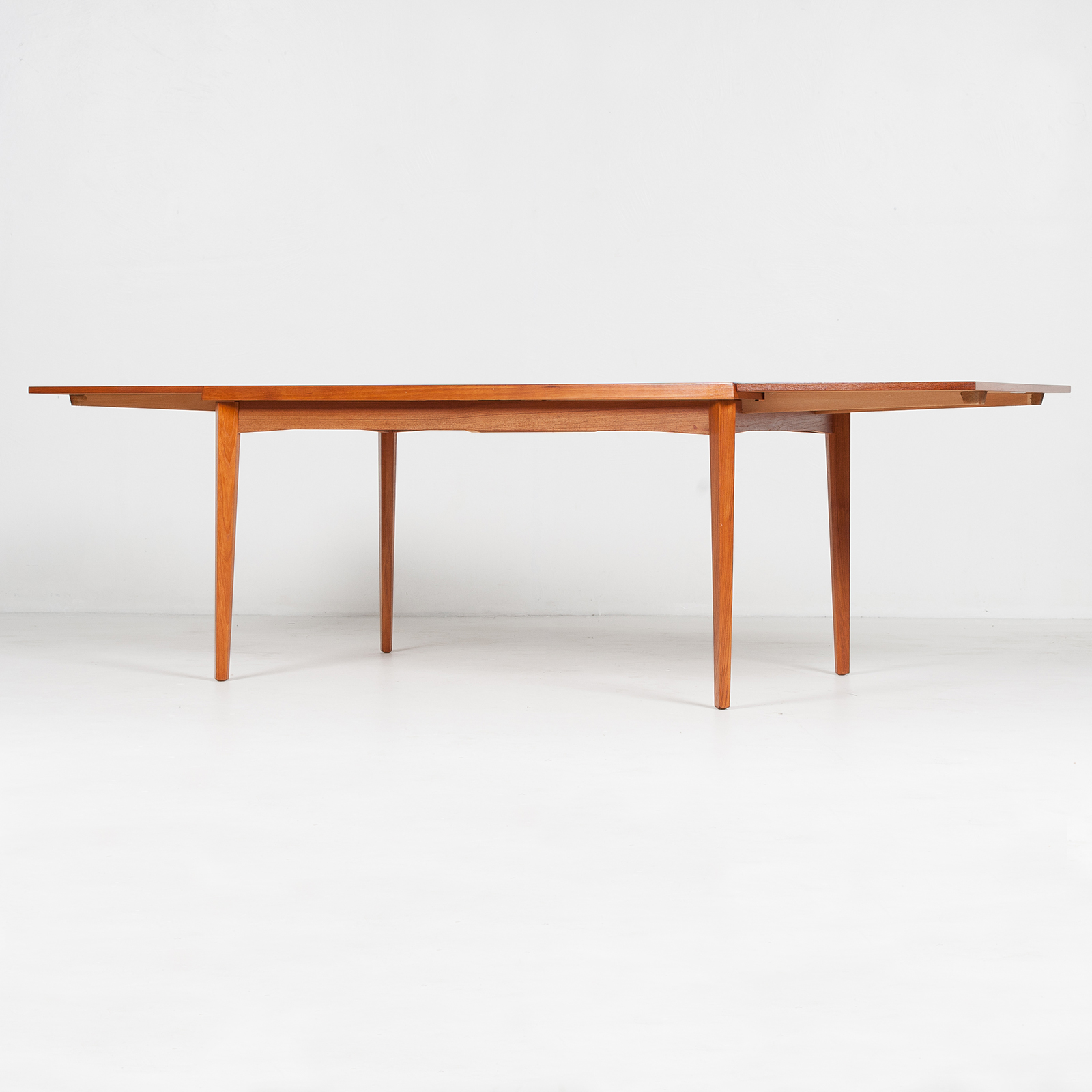 Dining Table In Teak With Concealed Top, 1960s, Denmark26