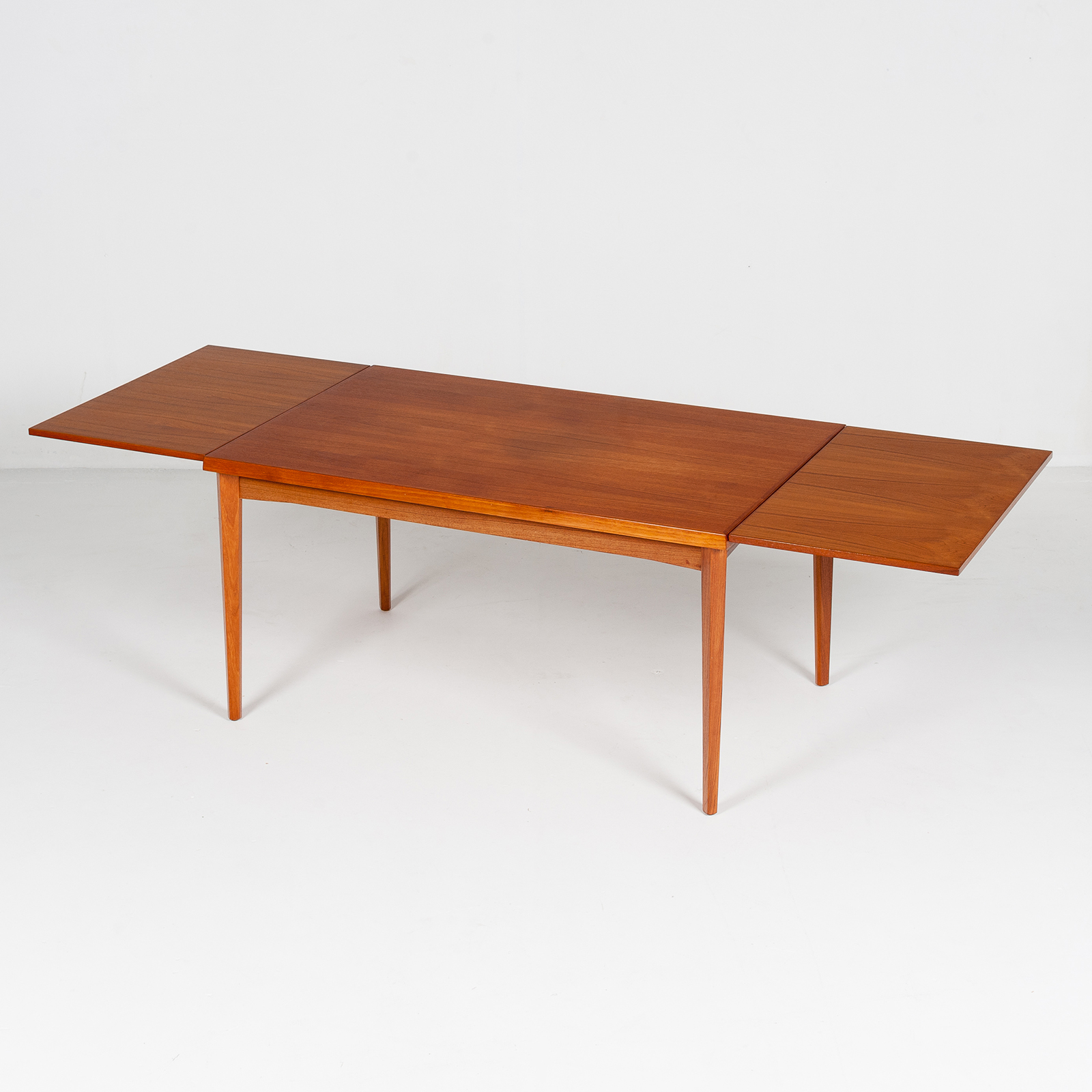 Dining Table In Teak With Concealed Top, 1960s, Denmark27
