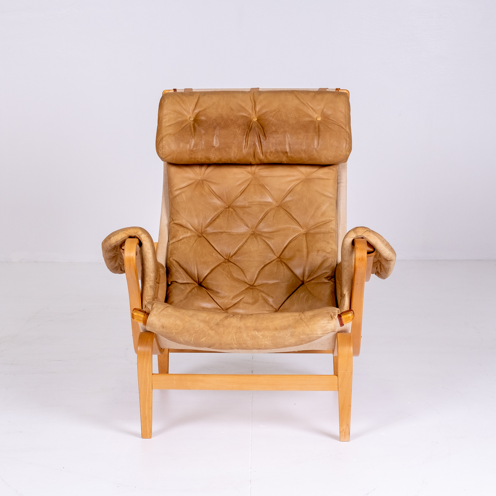 Pernilla 69 Chair By Bruno Mathsson For Dux, 1960s, Sweden 01