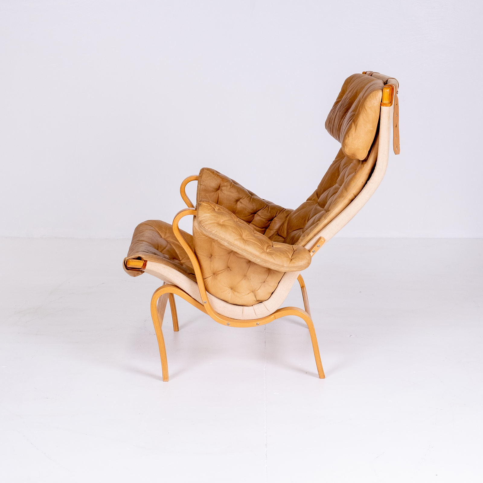 Pernilla 69 Chair By Bruno Mathsson For Dux, 1960s, Sweden 02