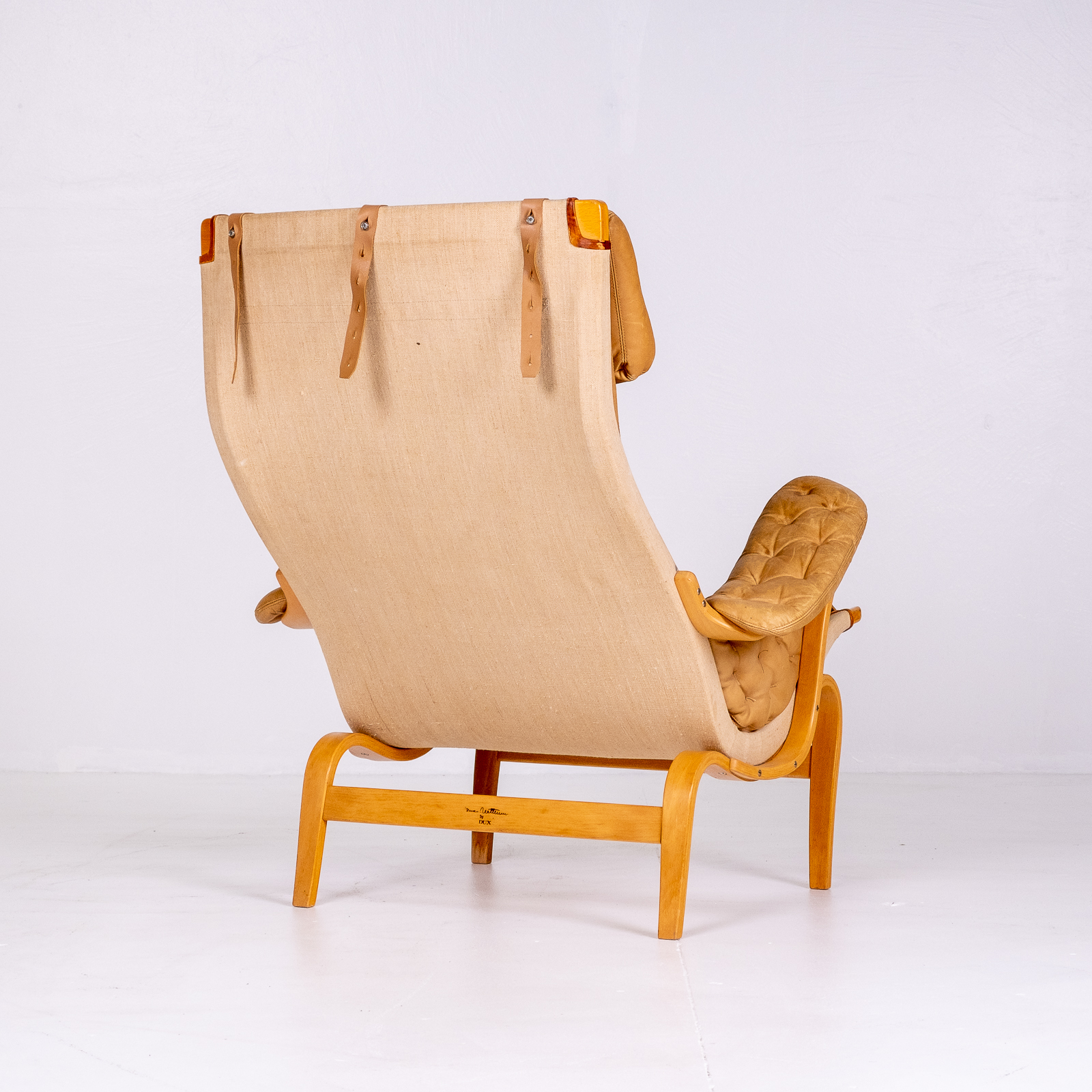 Pernilla 69 Chair By Bruno Mathsson For Dux, 1960s, Sweden 05