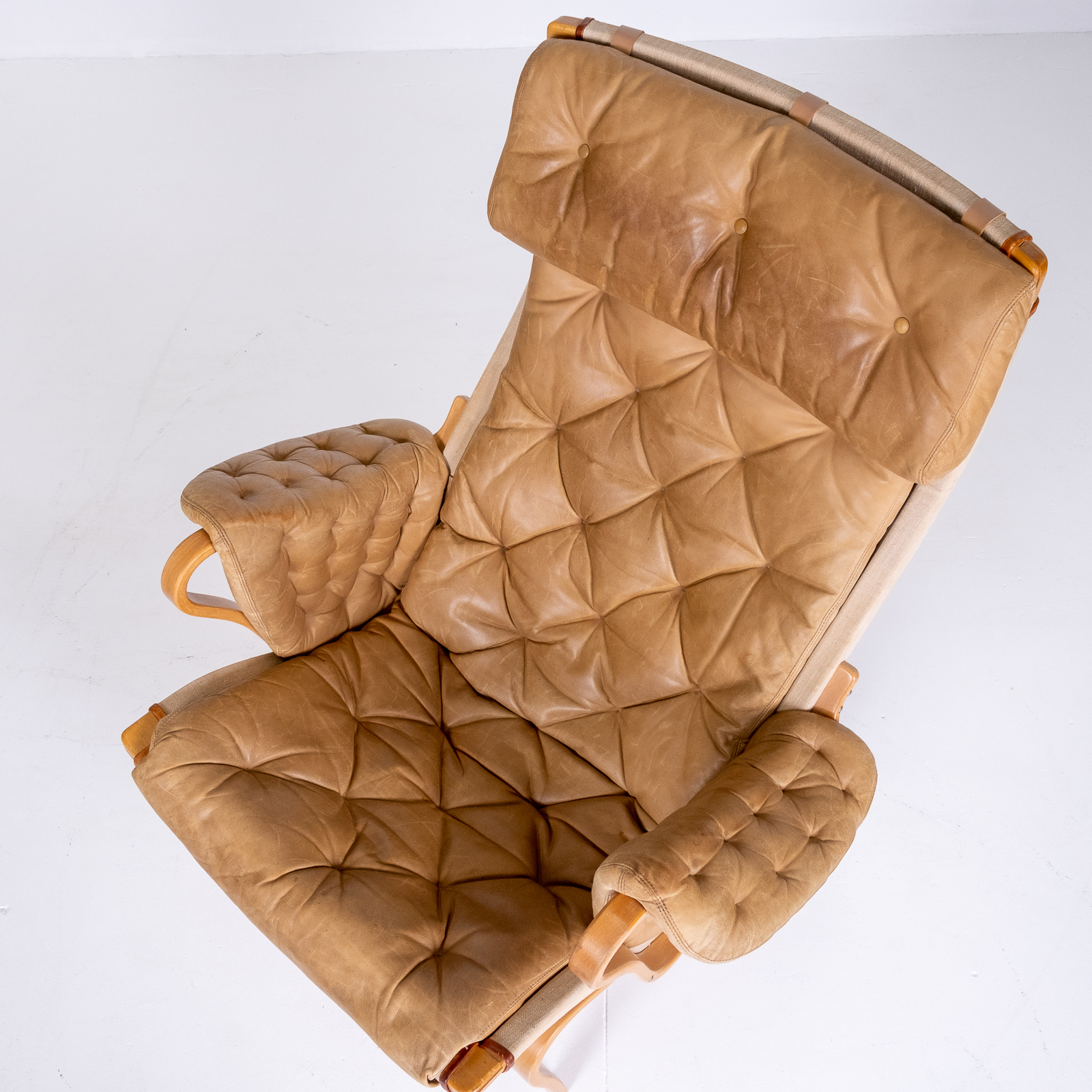 Pernilla 69 Chair By Bruno Mathsson For Dux, 1960s, Sweden 07
