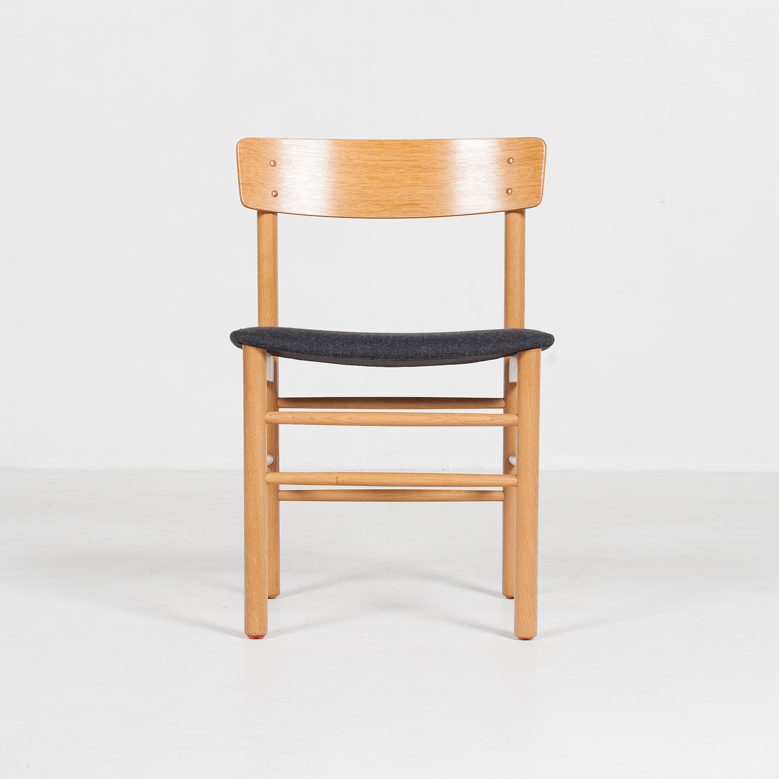 Set Of 4 Shaker Style Dining Chairs By Farstrup In Oak, 1960s, Denmark61