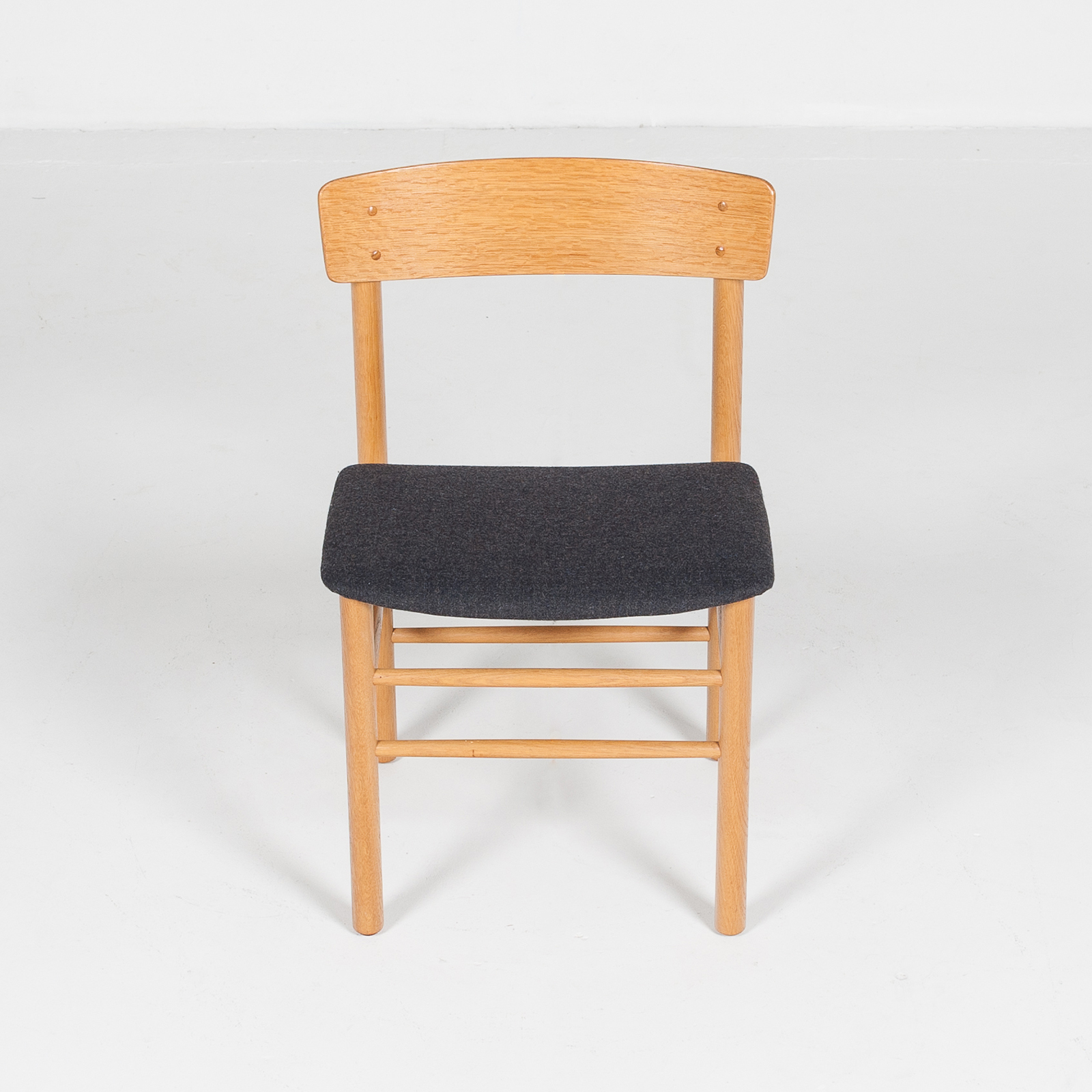 Set Of 4 Shaker Style Dining Chairs By Farstrup In Oak, 1960s, Denmark62