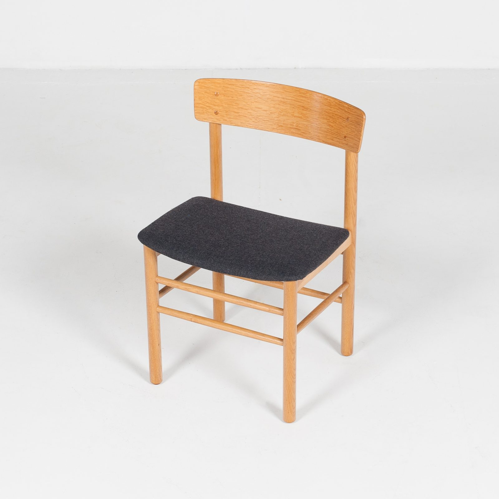 Set Of 4 Shaker Style Dining Chairs By Farstrup In Oak, 1960s, Denmark65