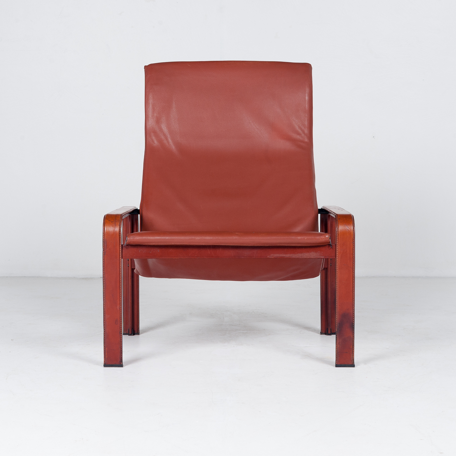 Armchair In Tan Leather By Matteo Grassi (mt Ac 194 128 It) 949