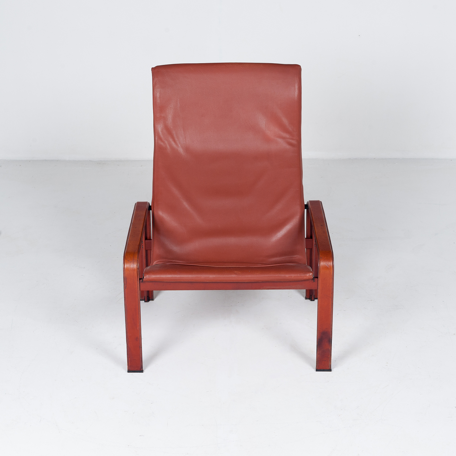 Armchair In Tan Leather By Matteo Grassi (mt Ac 194 128 It) 951