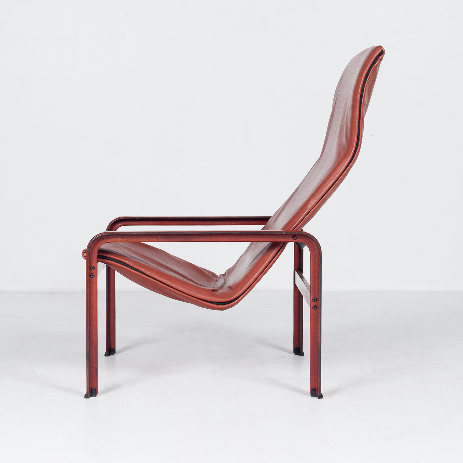 Armchair In Tan Leather By Matteo Grassi (mt Ac 194 128 It) 955