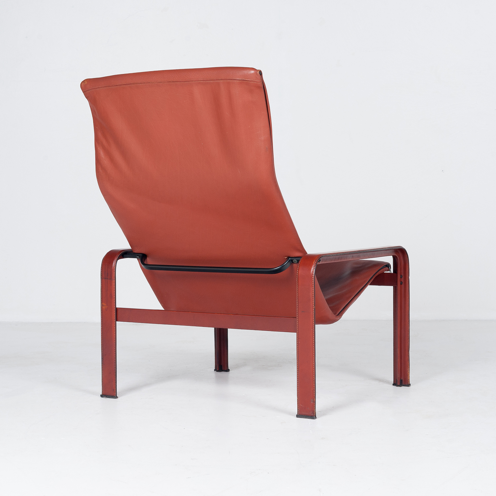 Armchair In Tan Leather By Matteo Grassi (mt Ac 194 128 It) 956