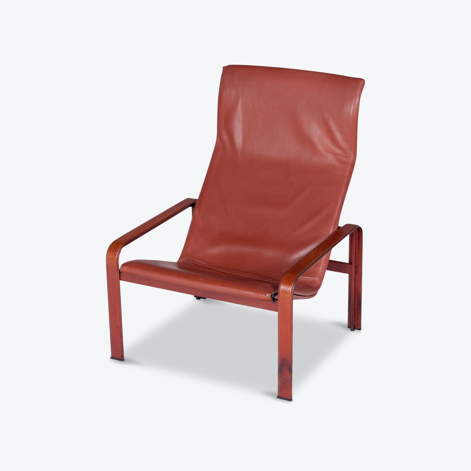 Armchair In Tan Leather By Matteo Grassi (mt Ac 194 128 It) Hero