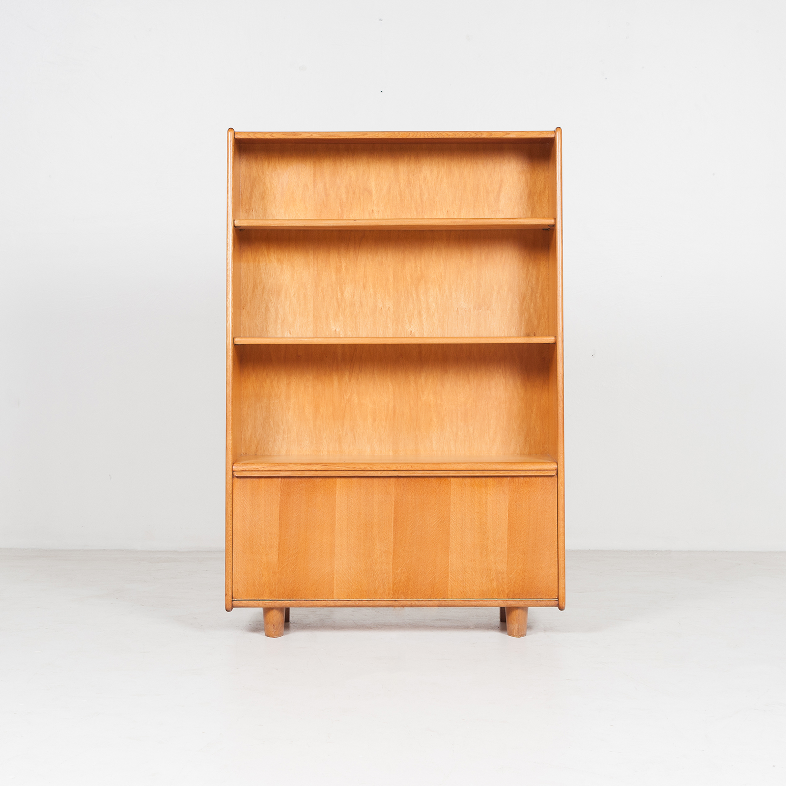 Model Be 03 Oak Series Bookcase By Cees Braakman For Pastoe, 1950s, The Netherlands 32