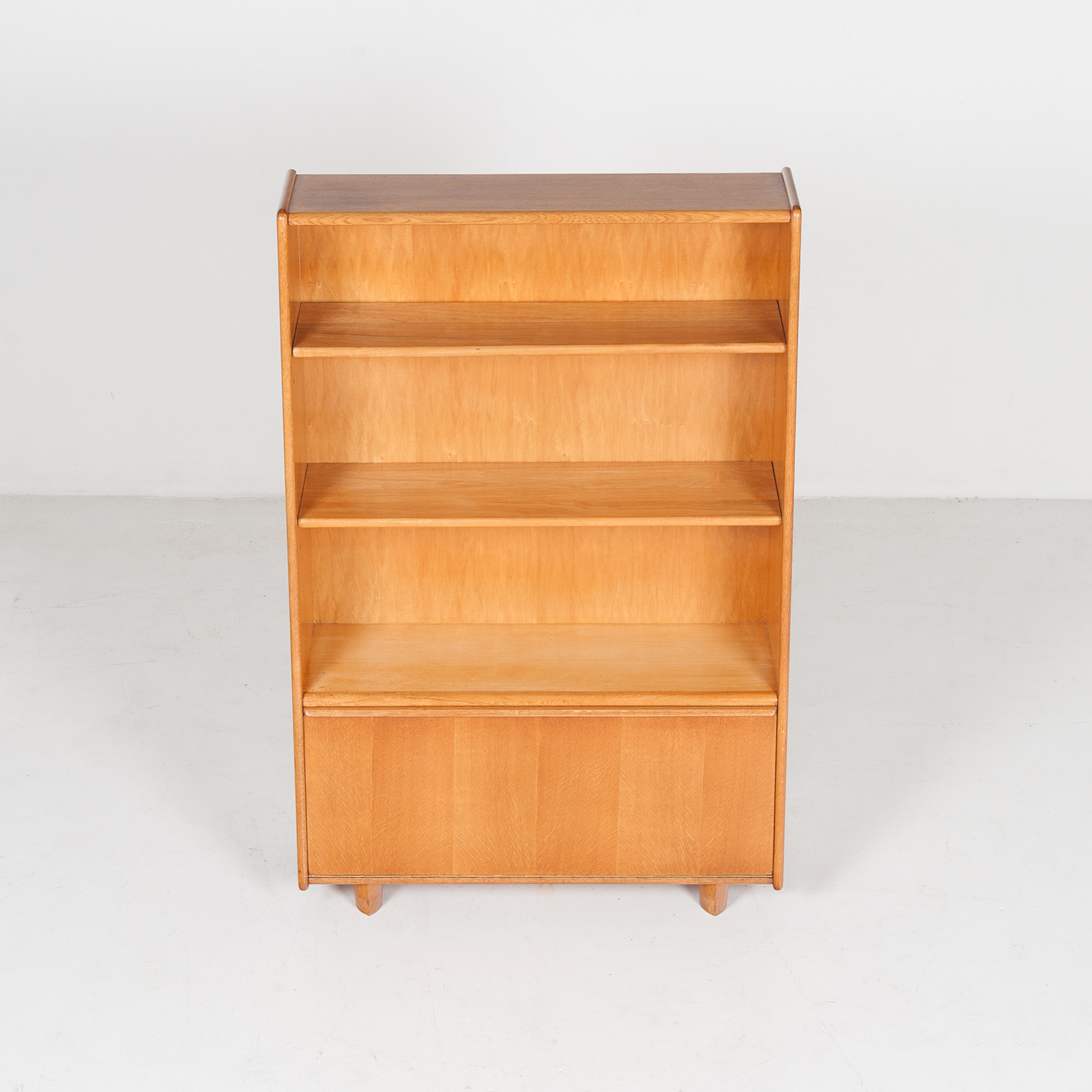 Model Be 03 Oak Series Bookcase By Cees Braakman For Pastoe, 1950s, The Netherlands 33