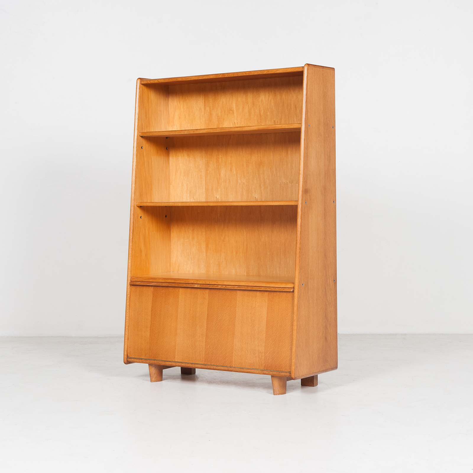 Model Be 03 Oak Series Bookcase By Cees Braakman For Pastoe, 1950s, The Netherlands 34