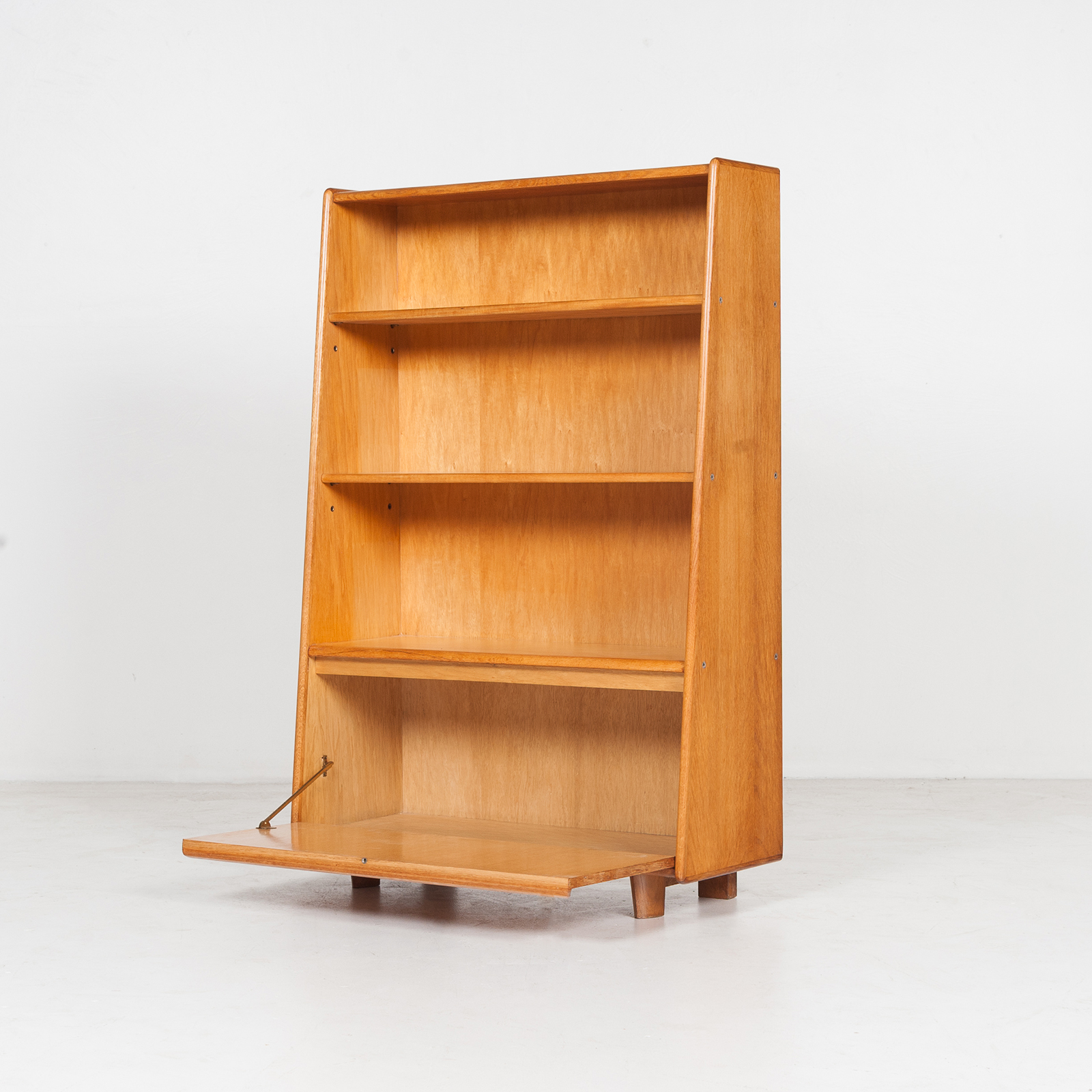 Model Be 03 Oak Series Bookcase By Cees Braakman For Pastoe, 1950s, The Netherlands 36