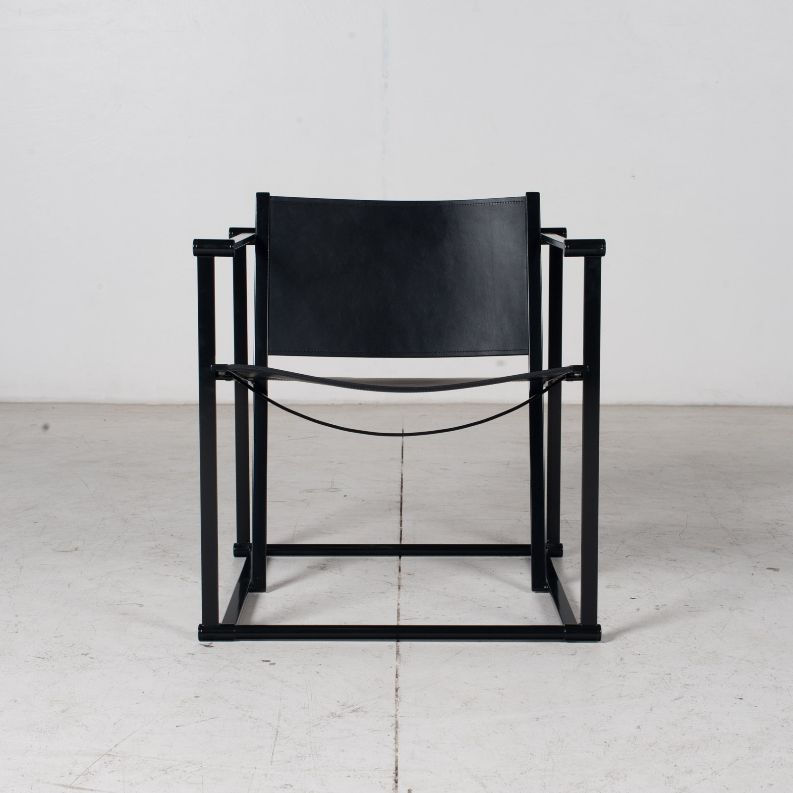 Pair Of Fm60 Cubic Chairs With Table By Radboud Van Beekum For Pastoe, 1980s, The Netherlands 1