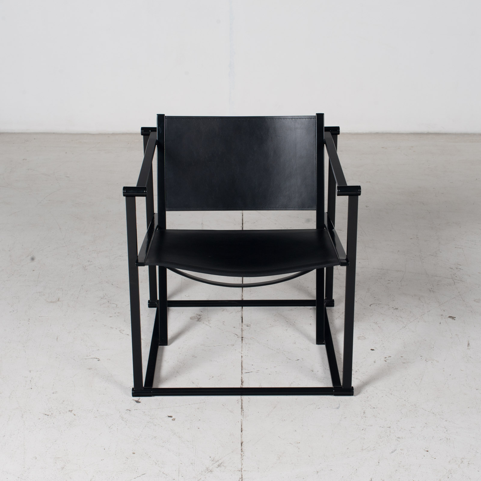 Pair Of Fm60 Cubic Chairs With Table By Radboud Van Beekum For Pastoe, 1980s, The Netherlands 2