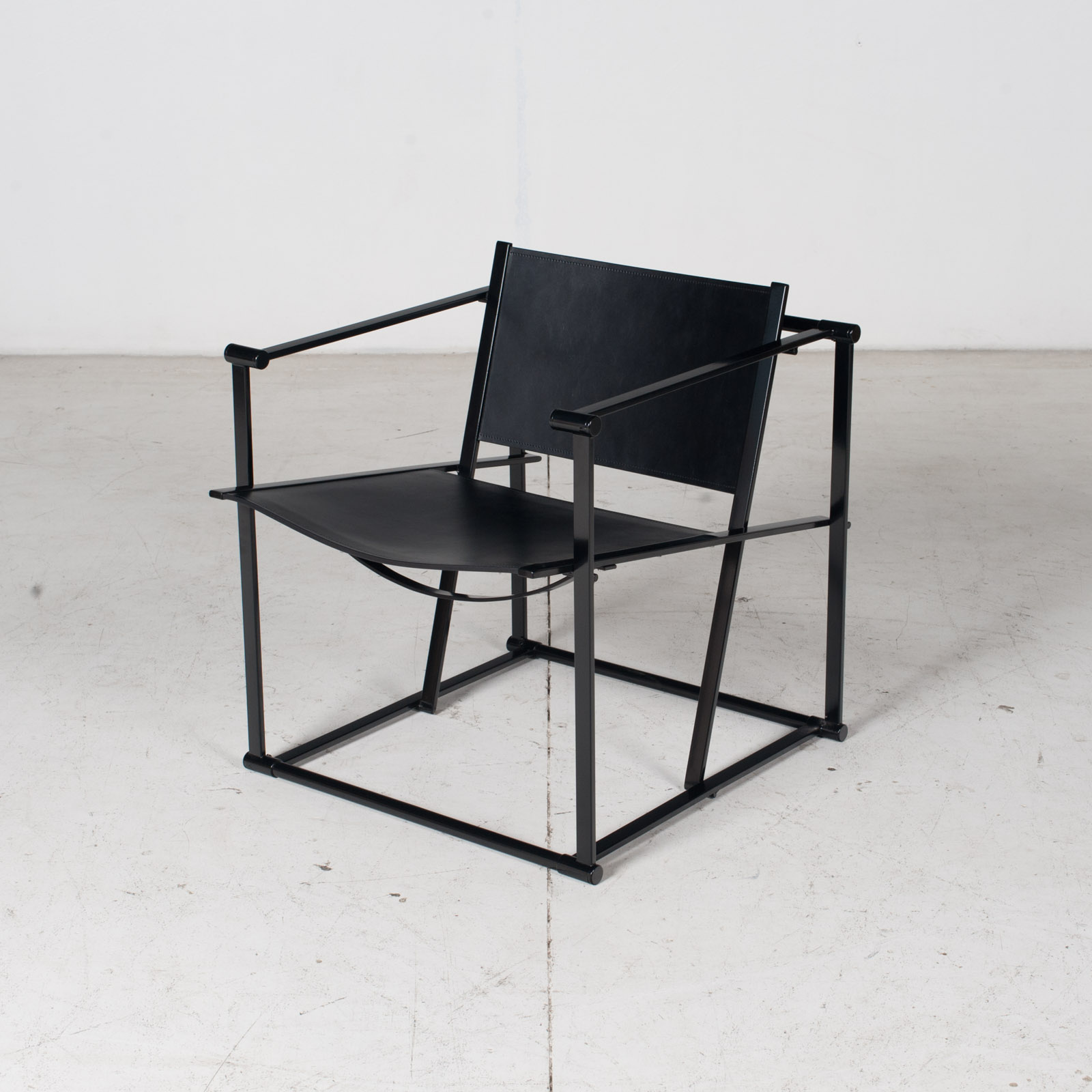 Pair Of Fm60 Cubic Chairs With Table By Radboud Van Beekum For Pastoe, 1980s, The Netherlands 4