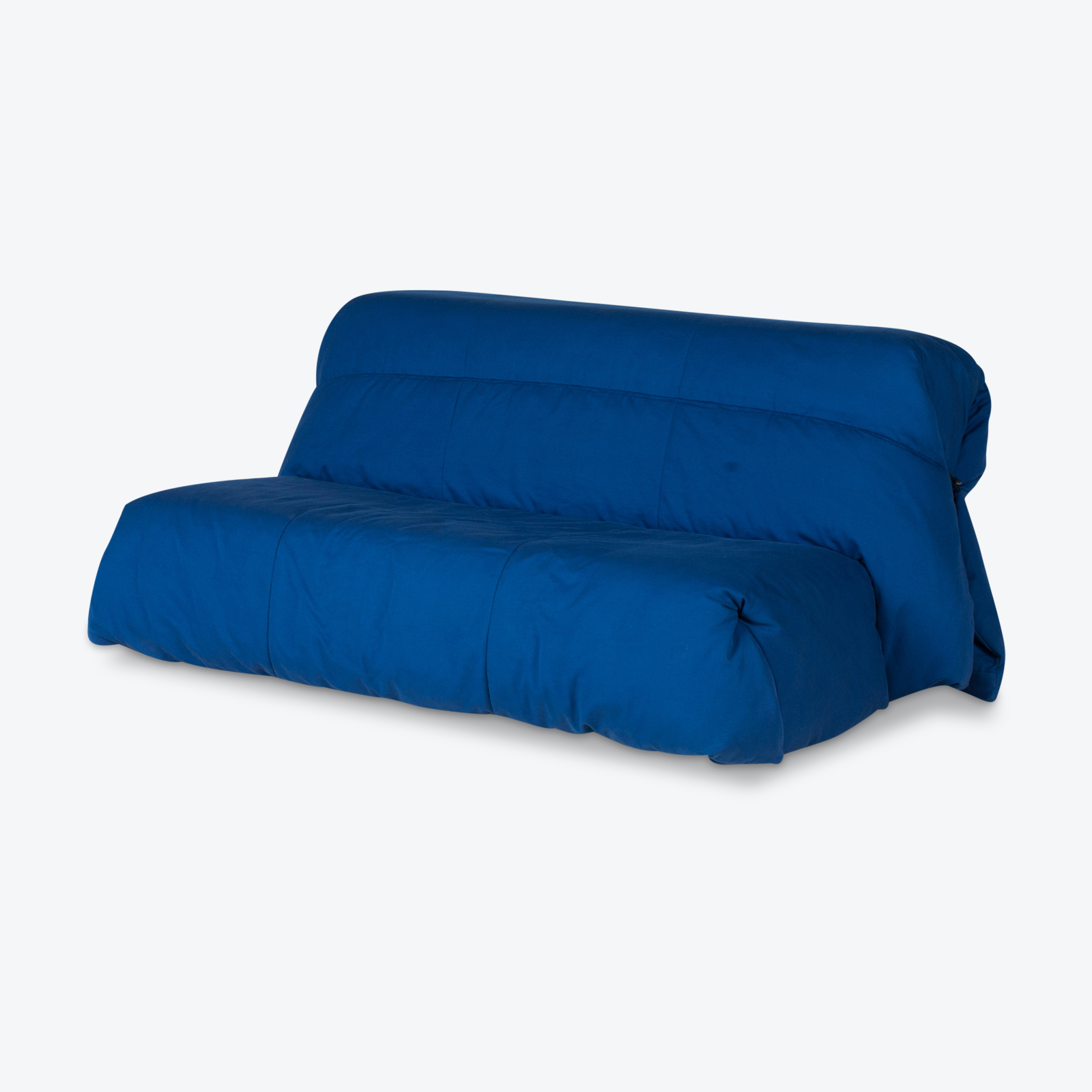Sofa Bed By Ligne Roset In Blue Upholstery, 1960s, France Hero