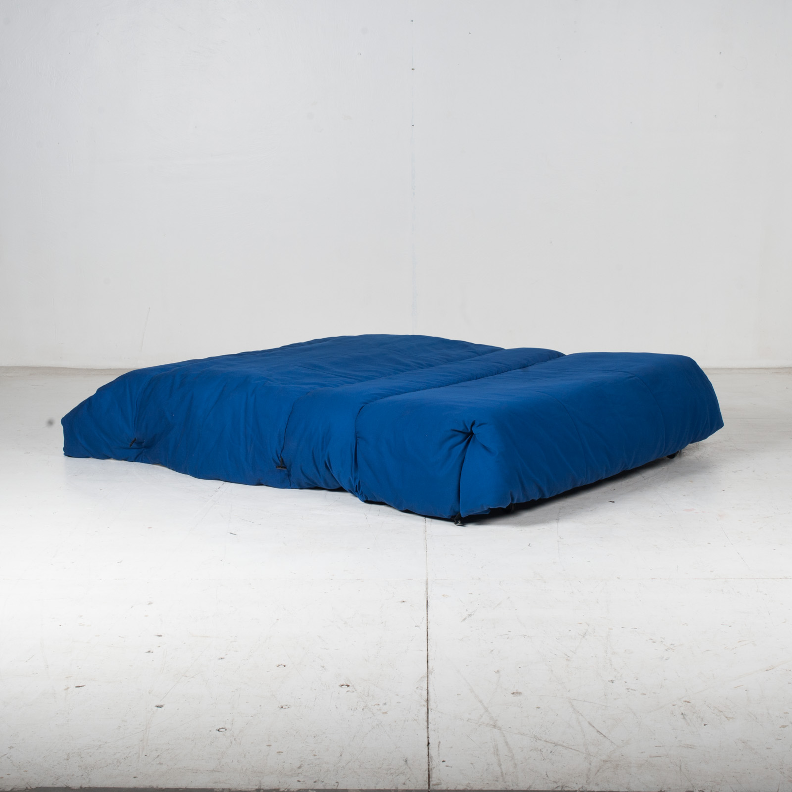 Sofa Bed By Ligne Roset In Blue Upholstery, 1960s, France12