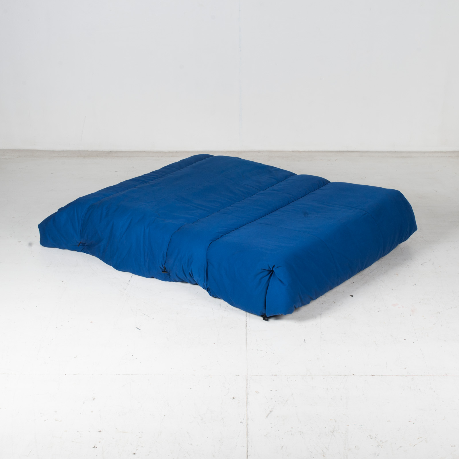 Sofa Bed By Ligne Roset In Blue Upholstery, 1960s, France13