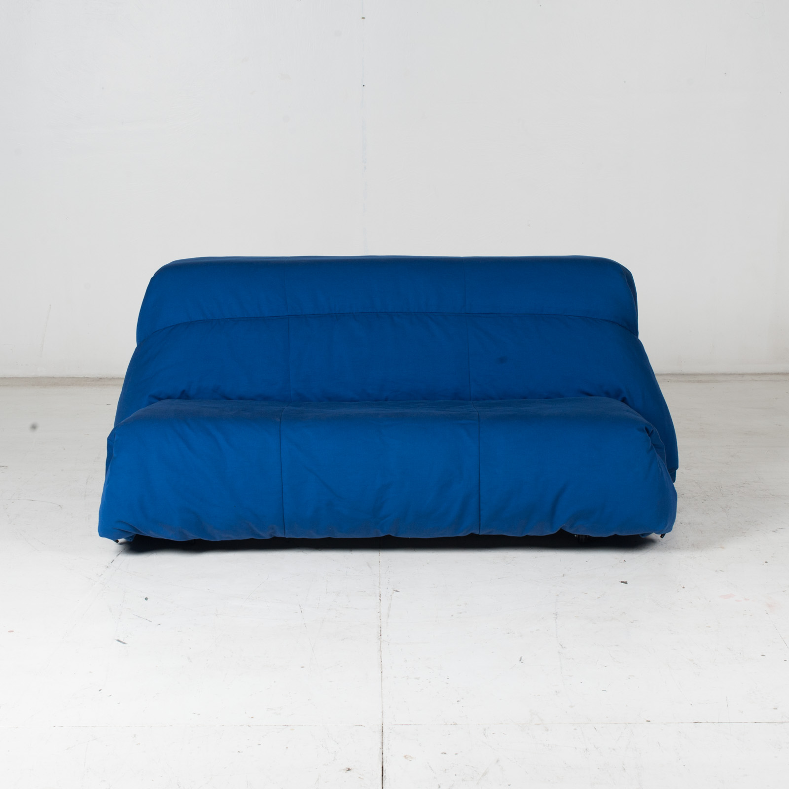 Sofa Bed By Ligne Roset In Blue Upholstery, 1960s, France2