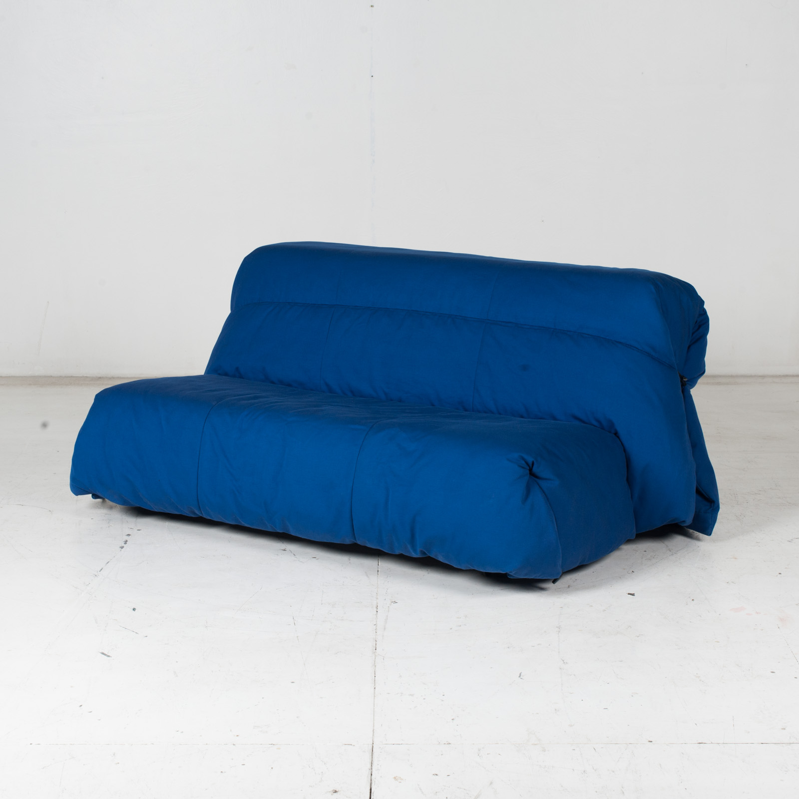 Sofa Bed By Ligne Roset In Blue Upholstery, 1960s, France4