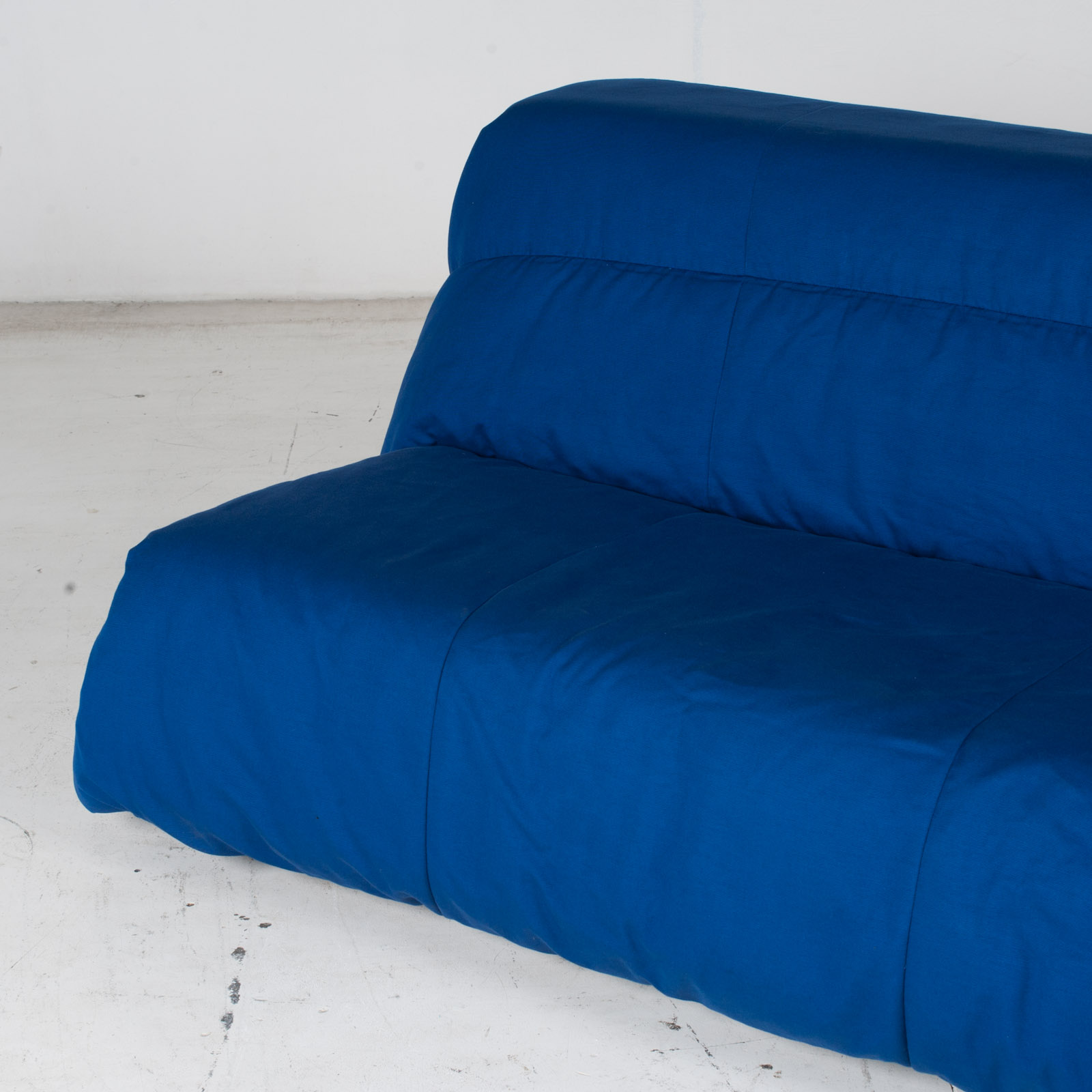 Sofa Bed By Ligne Roset In Blue Upholstery, 1960s, France5