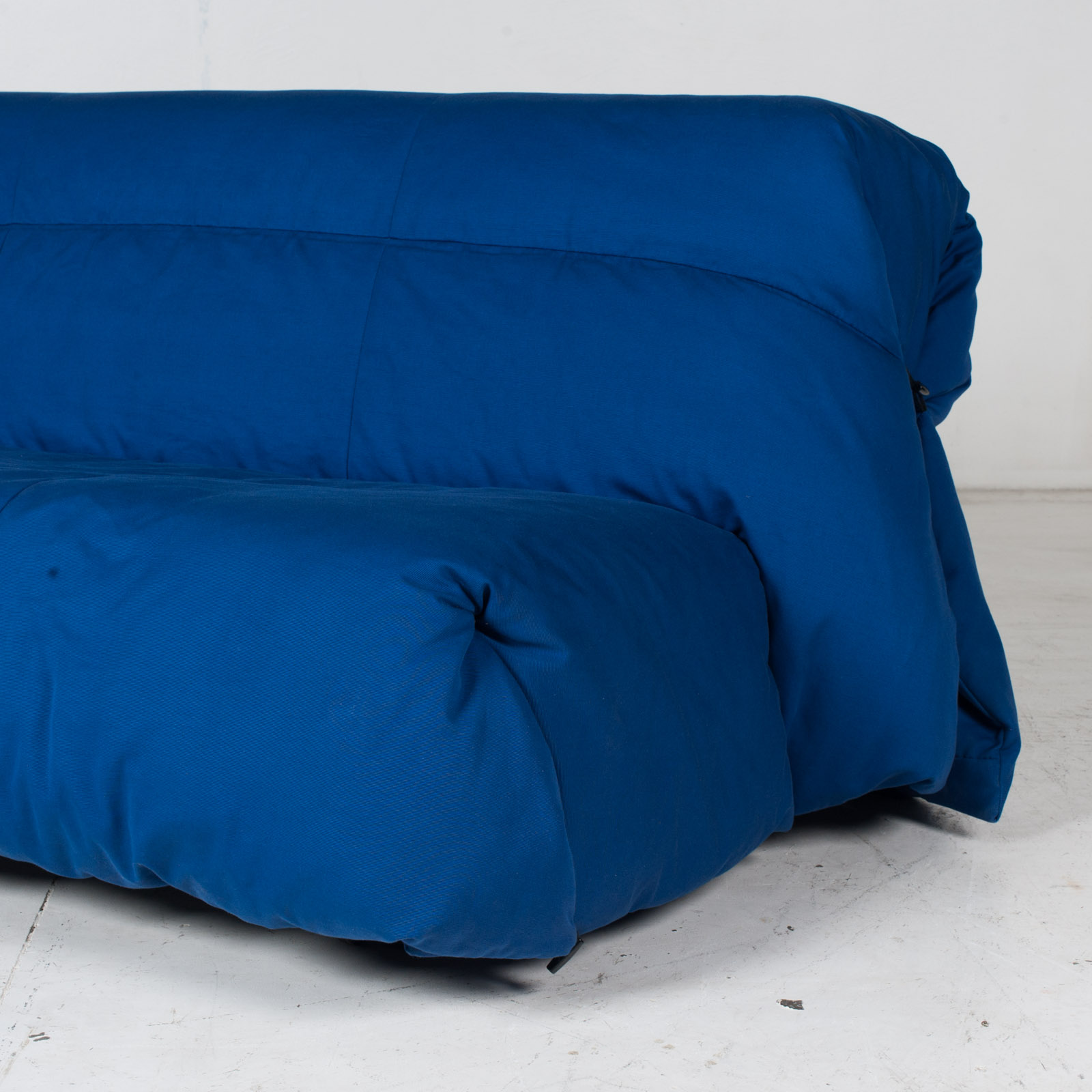 Sofa Bed By Ligne Roset In Blue Upholstery, 1960s, France6