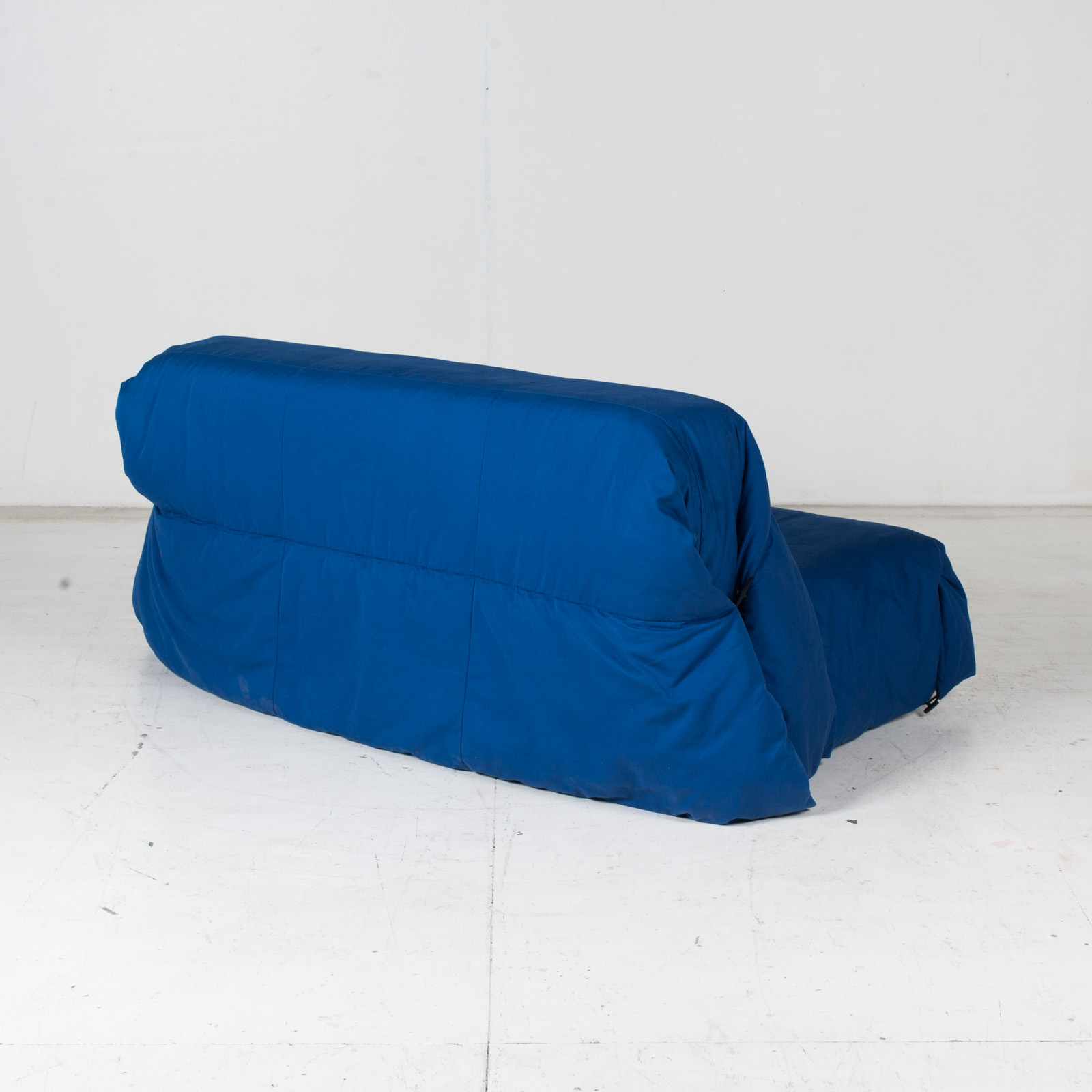 Sofa Bed By Ligne Roset In Blue Upholstery, 1960s, France7