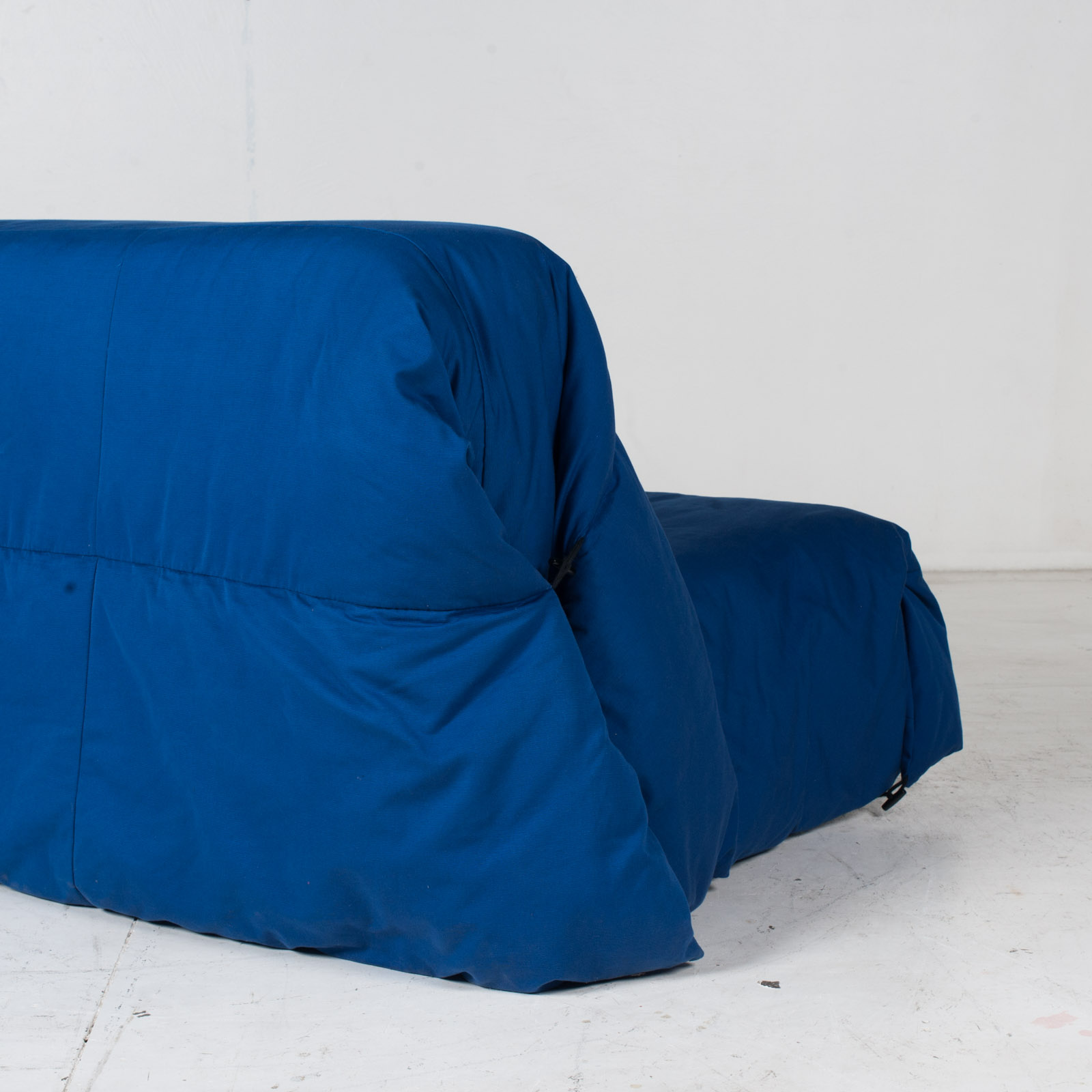 Sofa Bed By Ligne Roset In Blue Upholstery, 1960s, France8