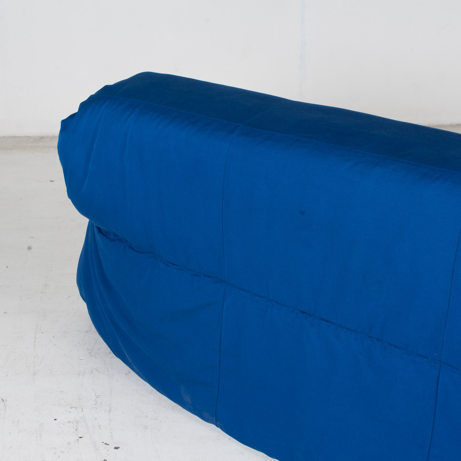 Sofa Bed By Ligne Roset In Blue Upholstery, 1960s, France9
