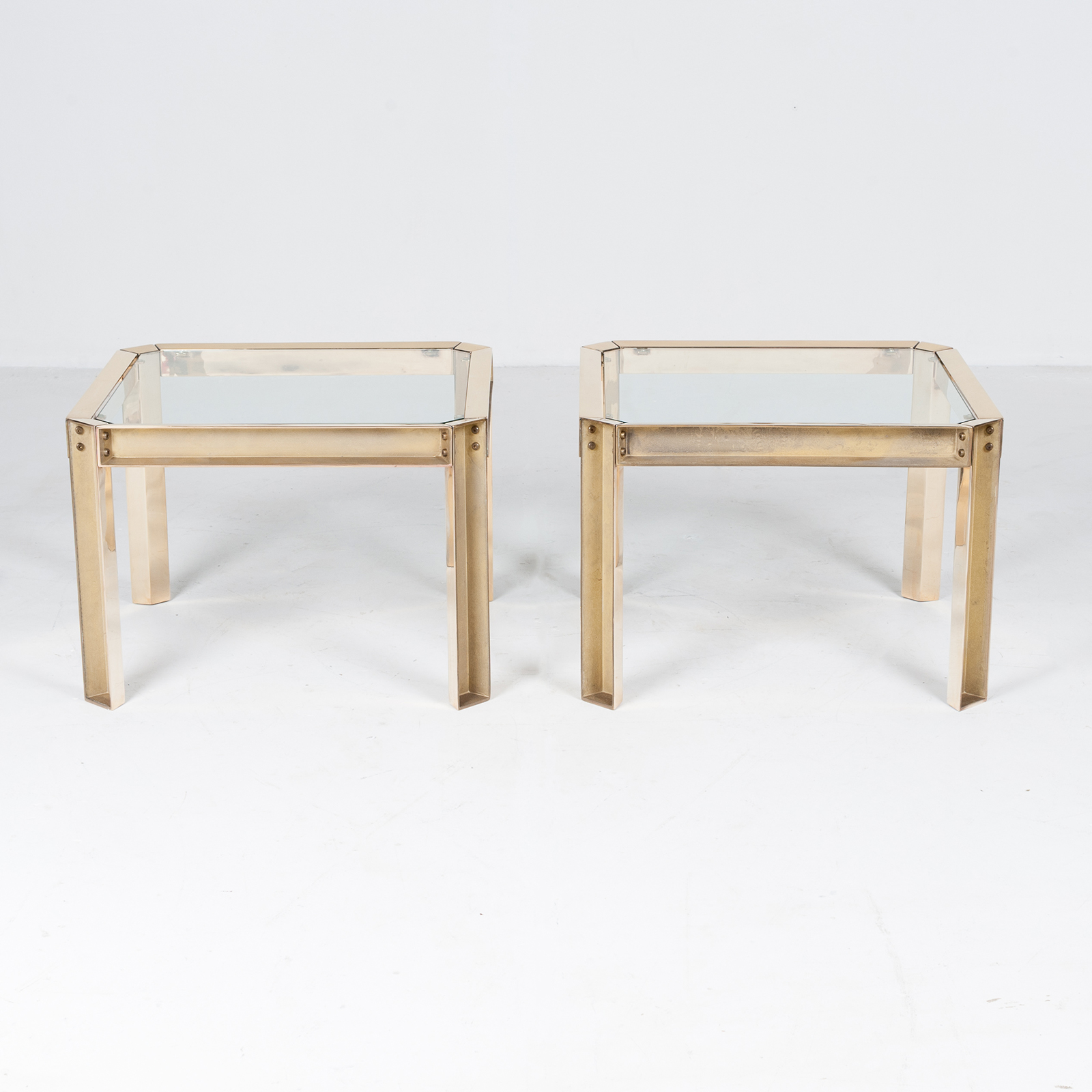 Square Side Table With Clear Glass Top By Peter Ghyczy, 1970s, The Netherlands 40