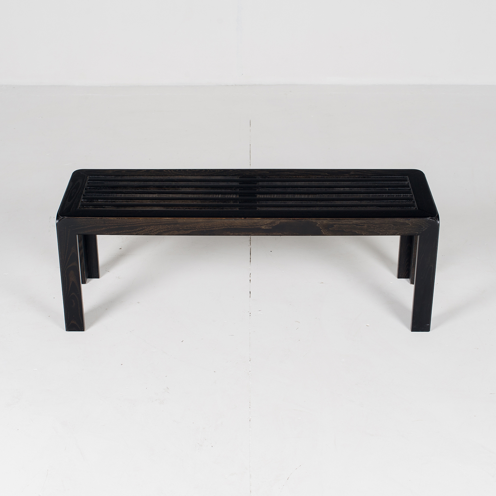Bench In Black Timber, 1960s, The Netherlands55