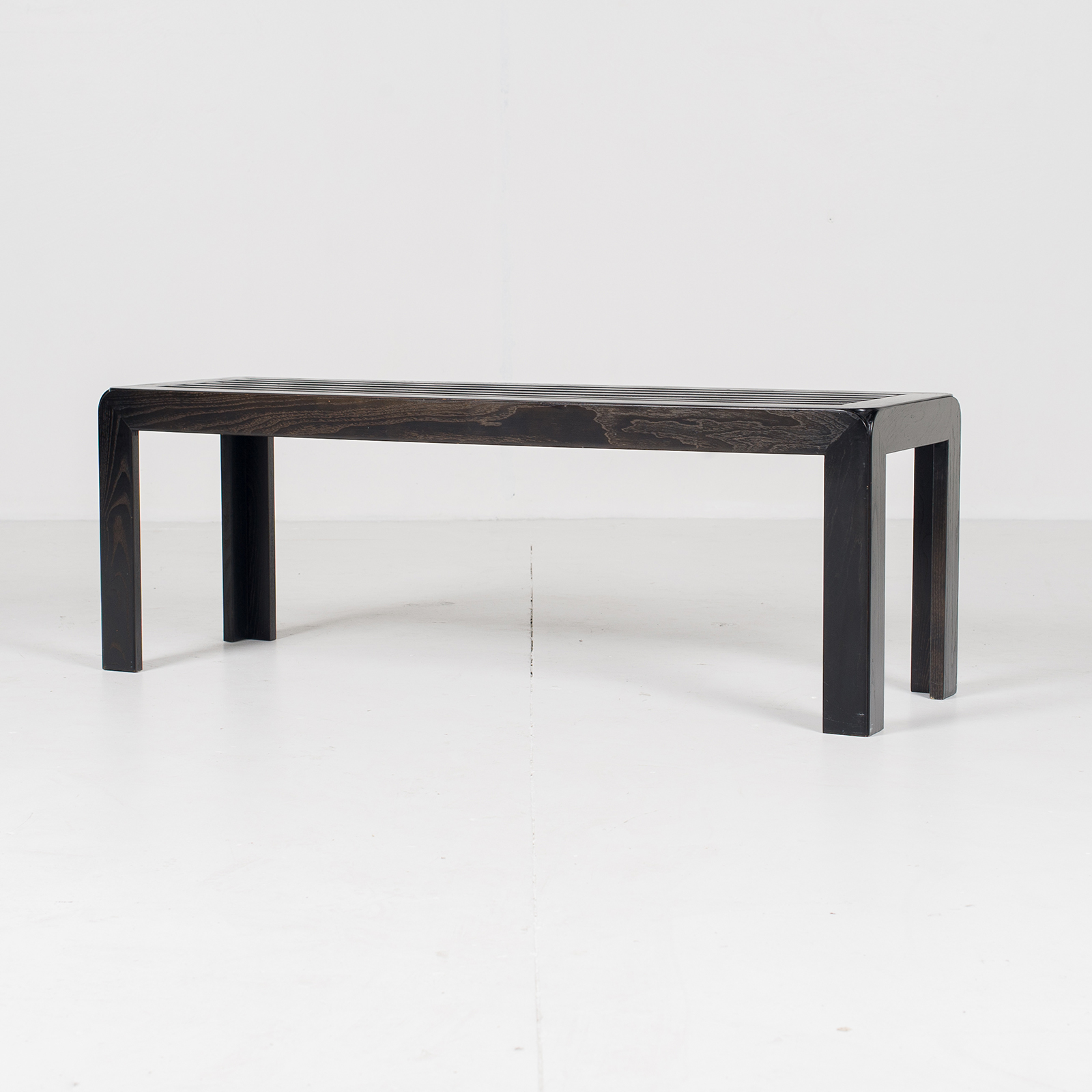 Bench In Black Timber, 1960s, The Netherlands56