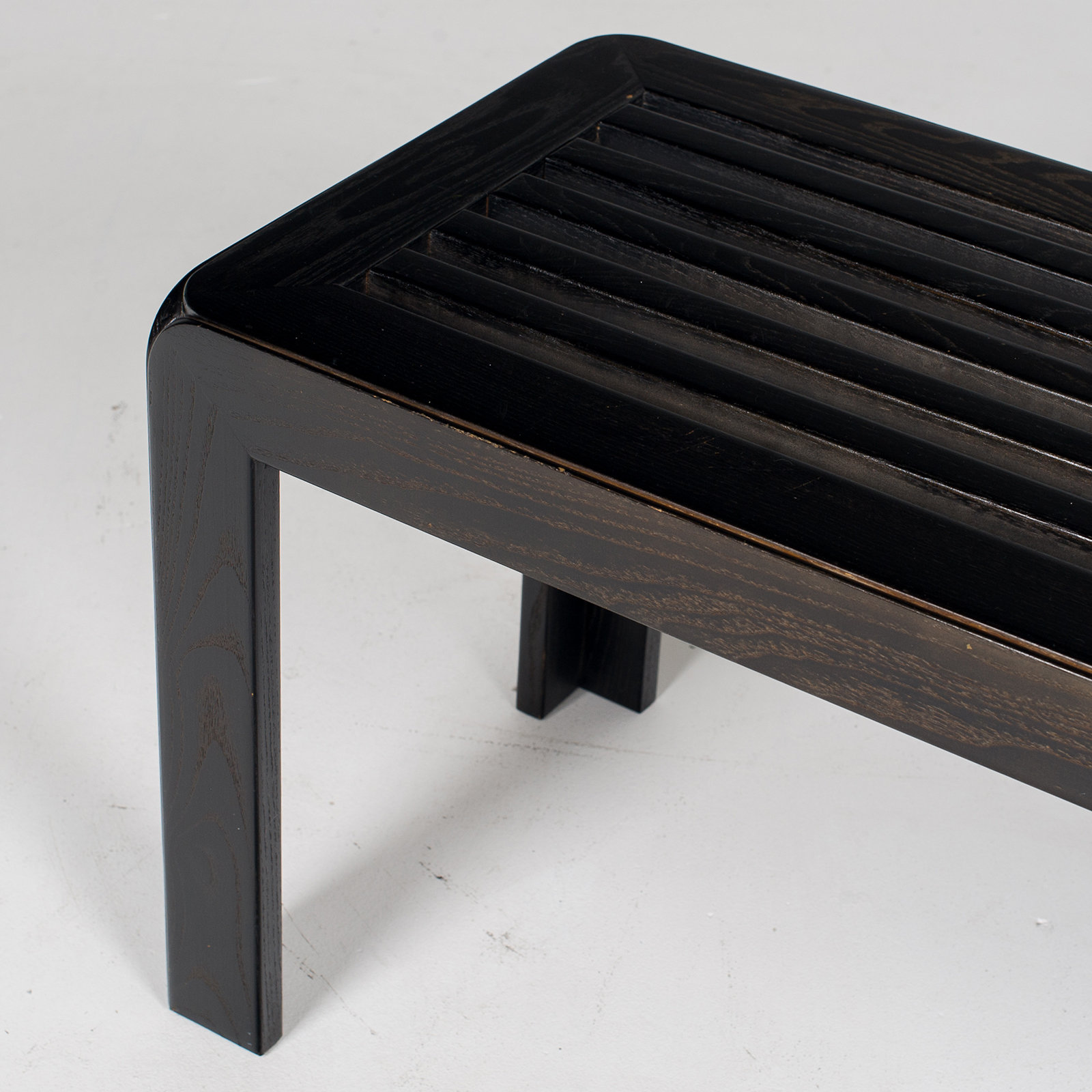 Bench In Black Timber, 1960s, The Netherlands60