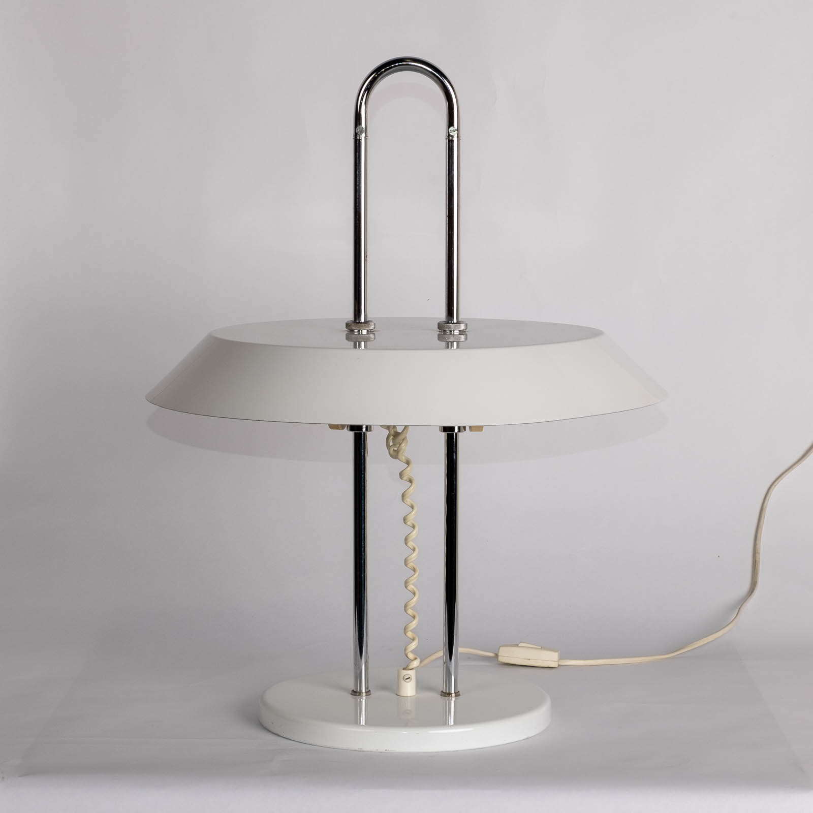 Desk Lamp With Chrome Body, The Netherlands1