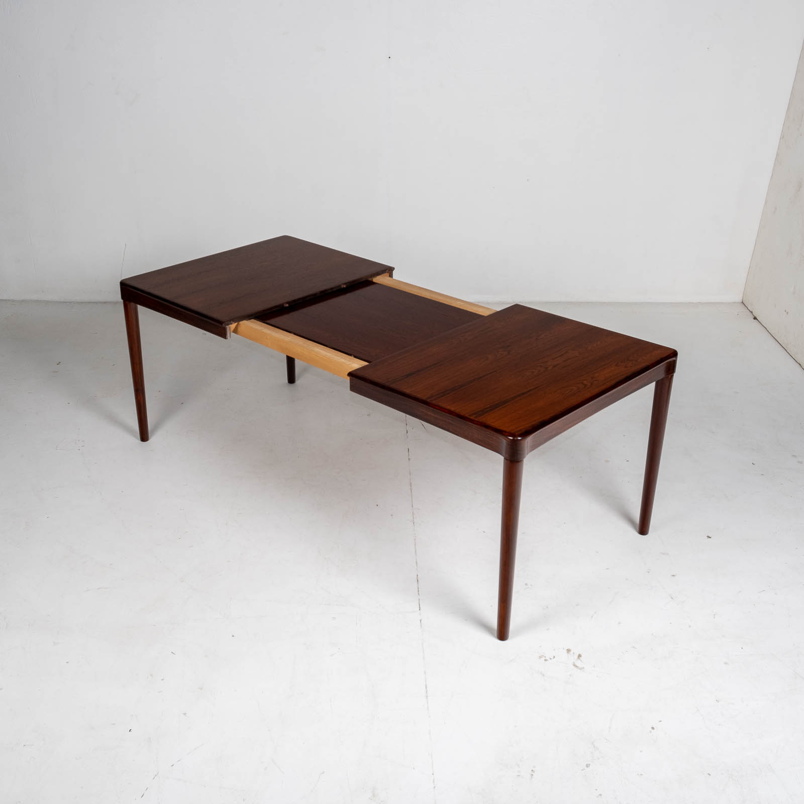 Extendable Dining Table By Hw Klein For Bramin In Rosewood, 1960s, Denmark5
