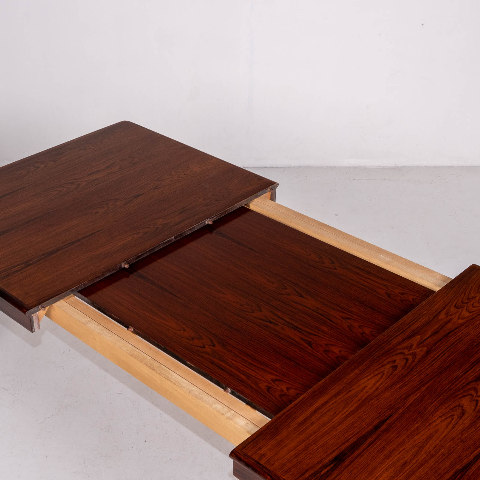 Extendable Dining Table By Hw Klein For Bramin In Rosewood, 1960s, Denmark6