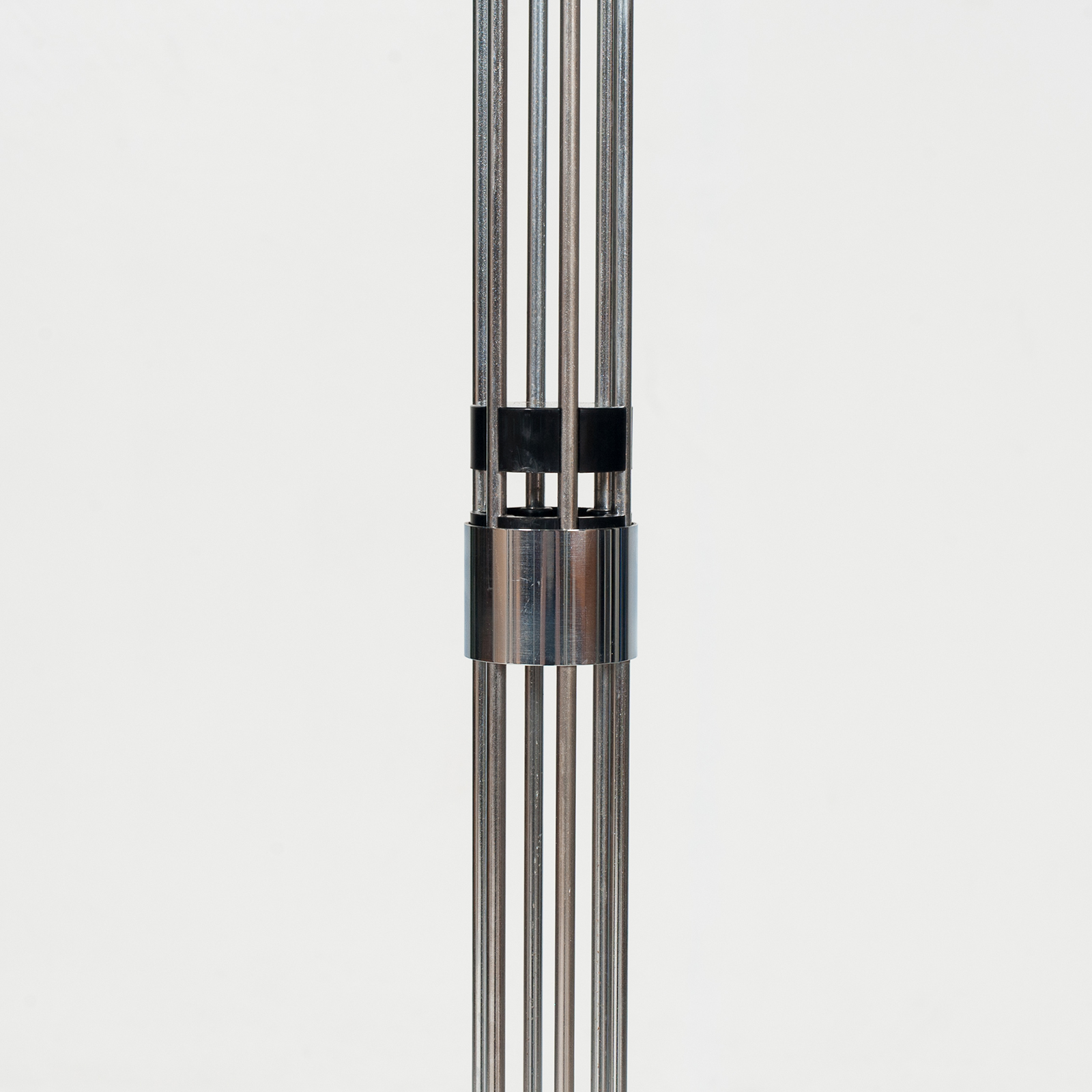 Hat Stand In Chrome And Black Steel, 1960s, Belgium67