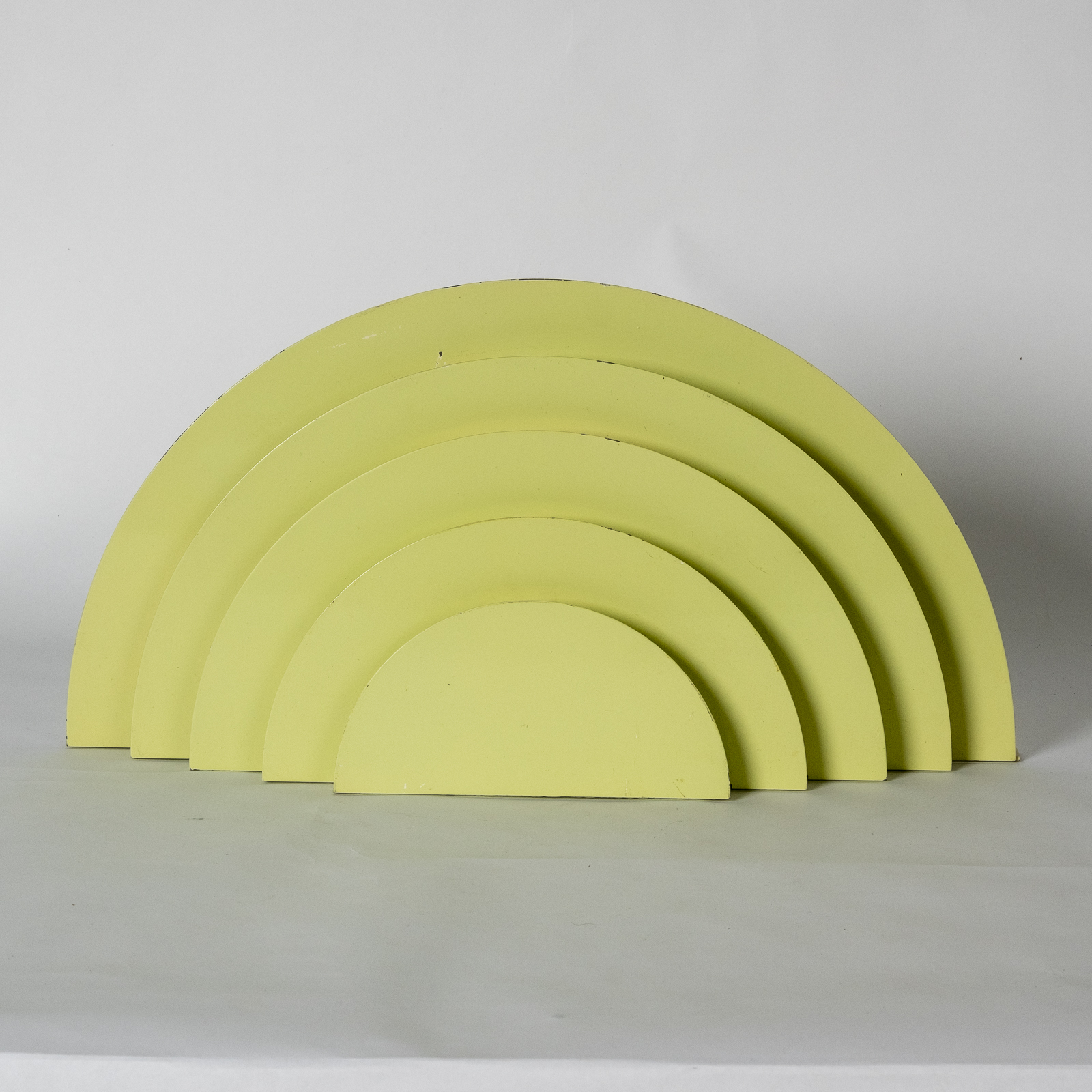 Meander Sconce By Cesare Casati And Emanuele Ponzi For Raak In Yellow, 1970s, The Netherlands3