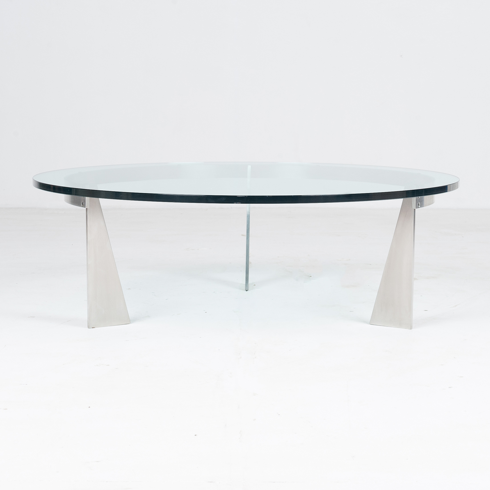 Round Coffee Table By Metaform, 1980s, The Netherlands 1