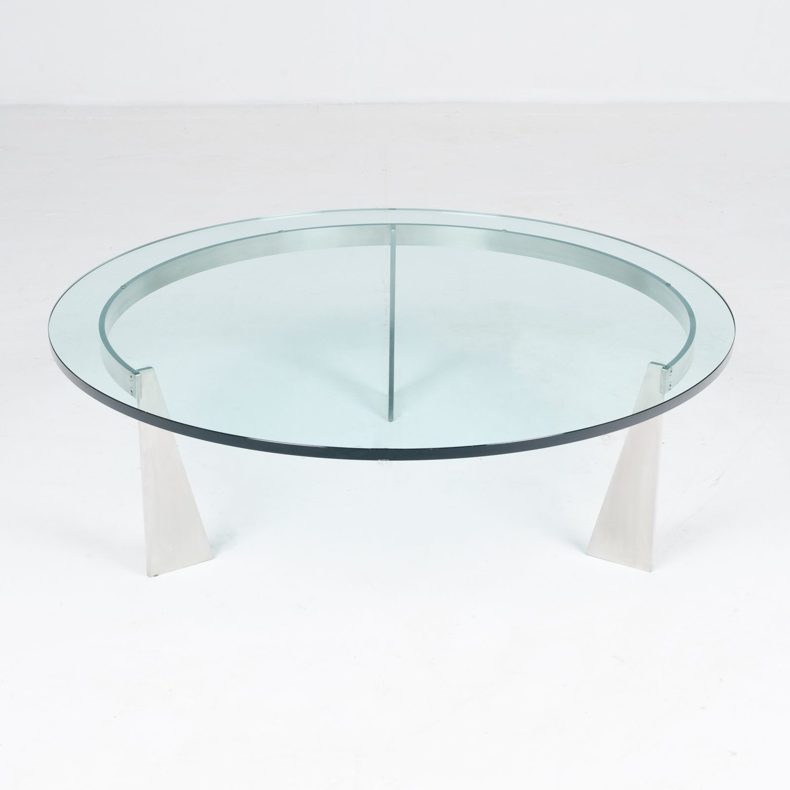 Round Coffee Table By Metaform, 1980s, The Netherlands 2