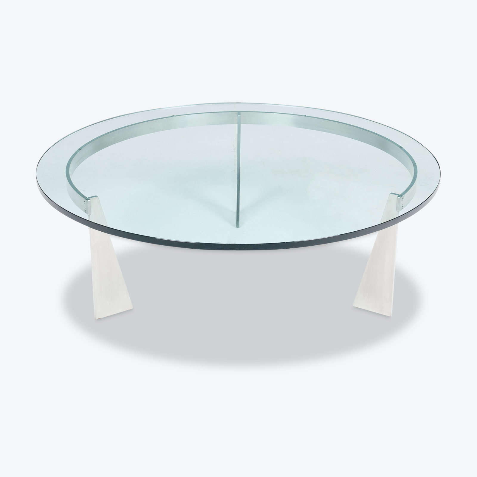 Round Coffee Table By Metaform, 1980s, The Netherlands Hero